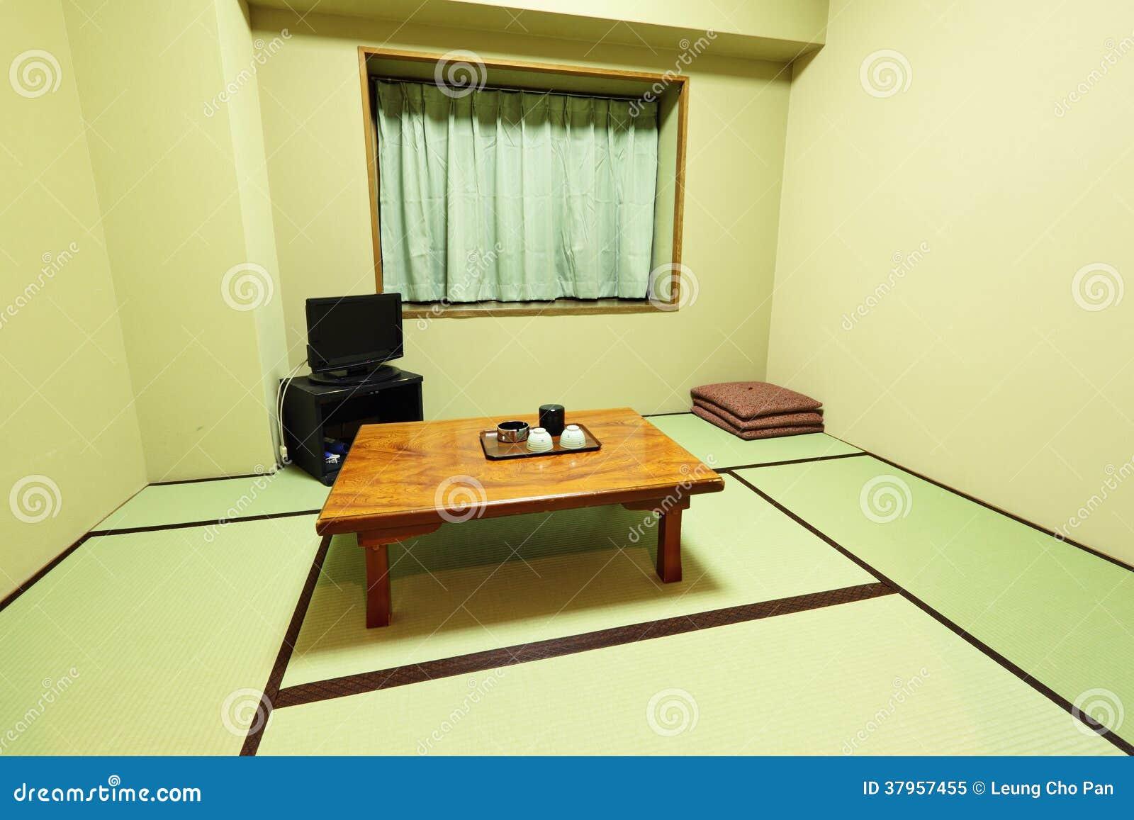 Int rieur de maison japonaise traditionnelle photo libre for Meuble japonais traditionnel