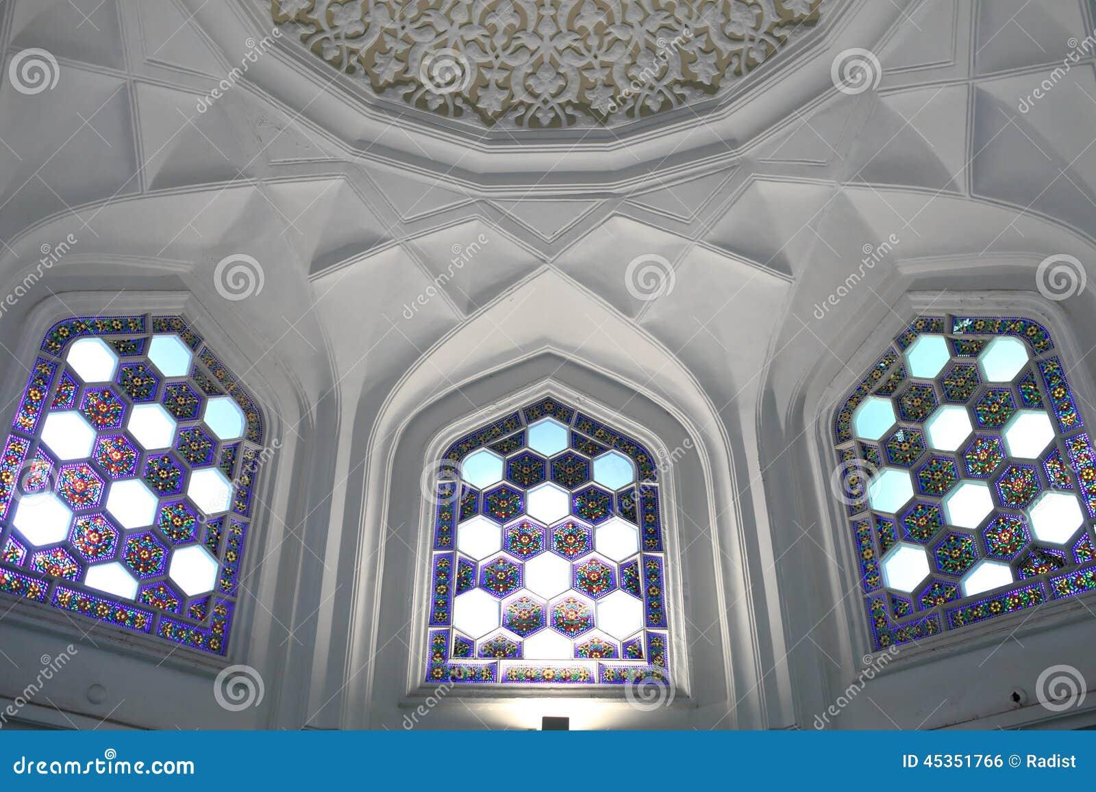 Intérieur de palais arabe