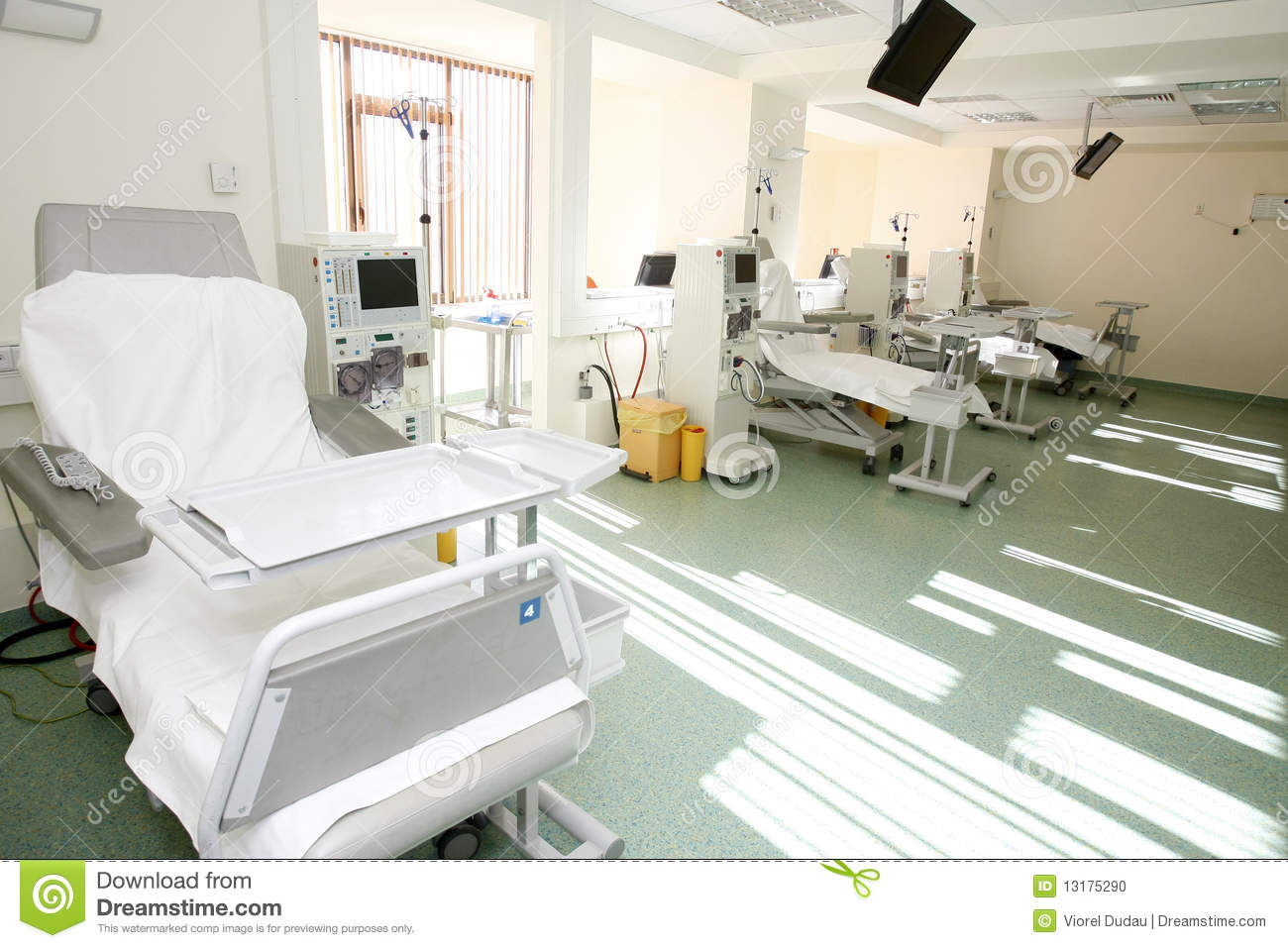 Int rieur de pi ce d h pital for Interieur hopital
