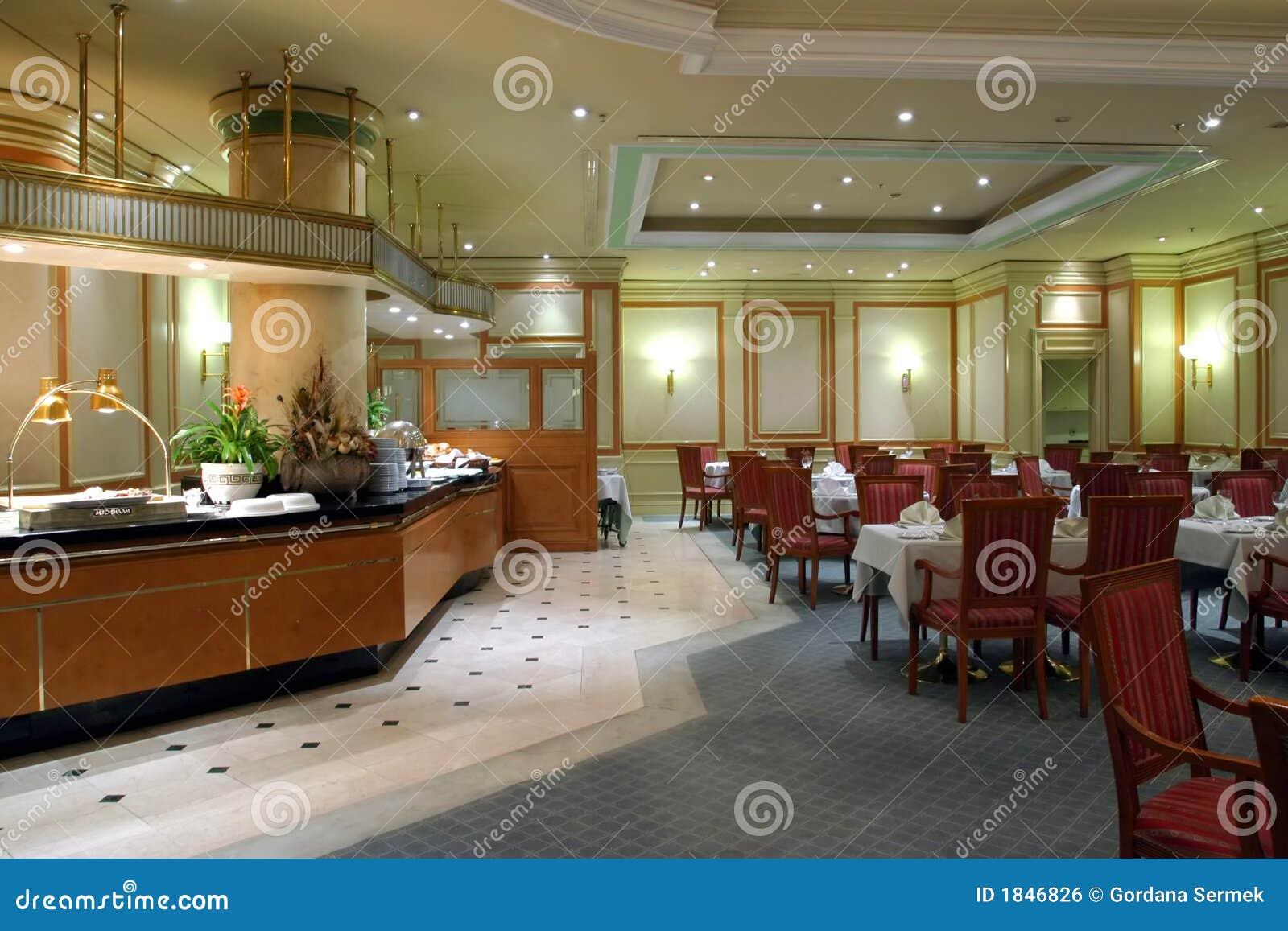 Intérieur de restaurant
