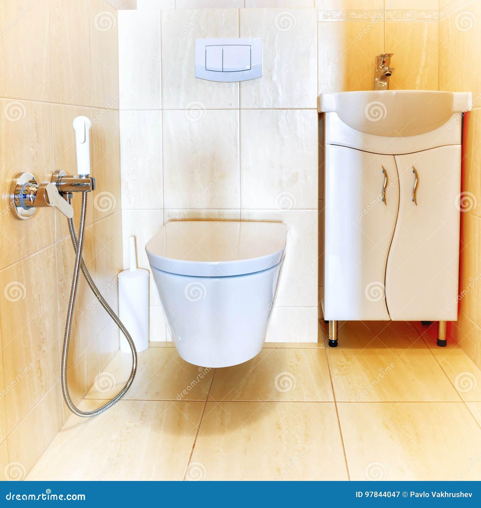 Salle De Bains Ou Toilettes ~ int rieur de salle de bains de toilette image stock image du