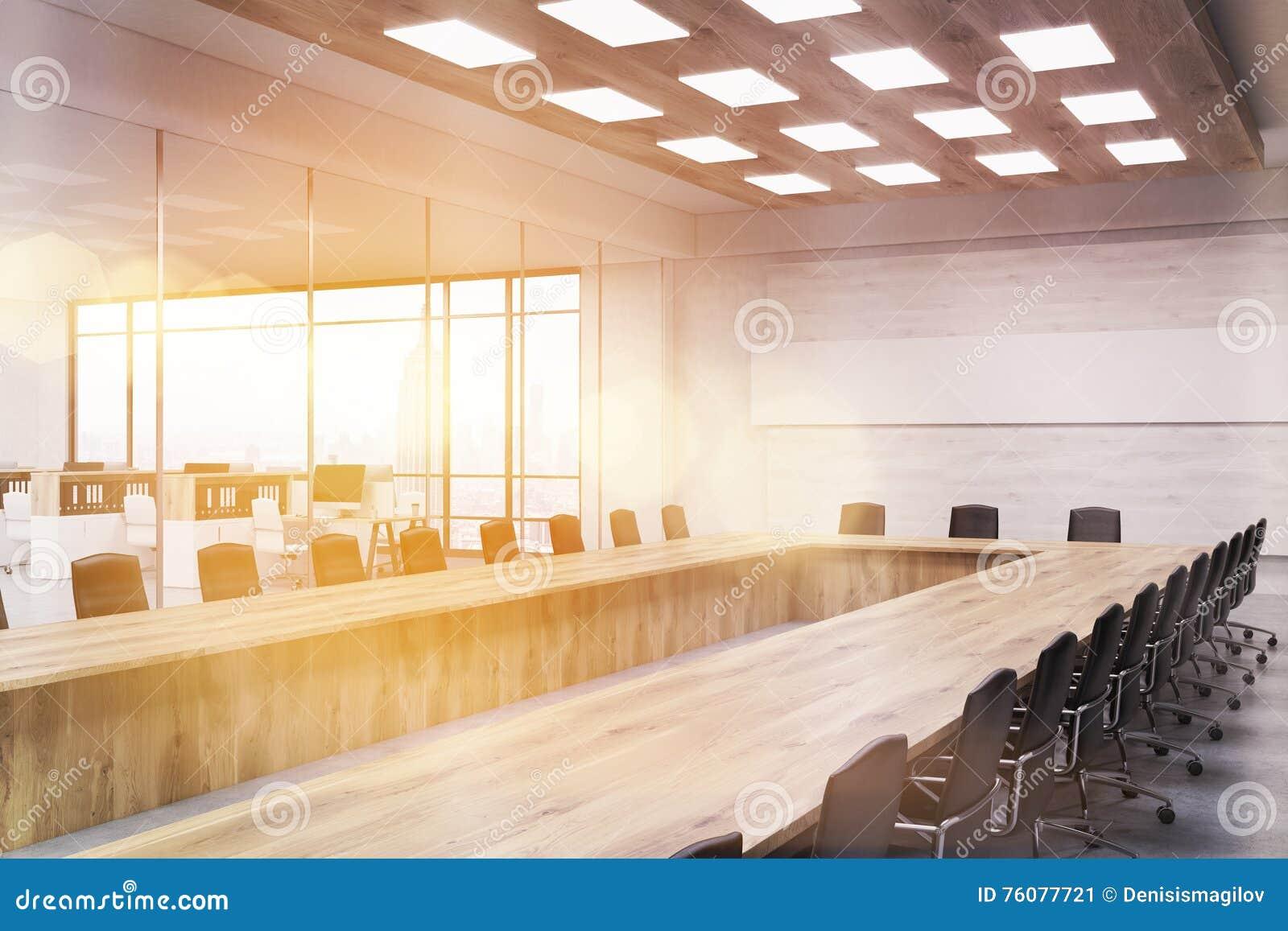 Intérieur de salle du conseil d administration