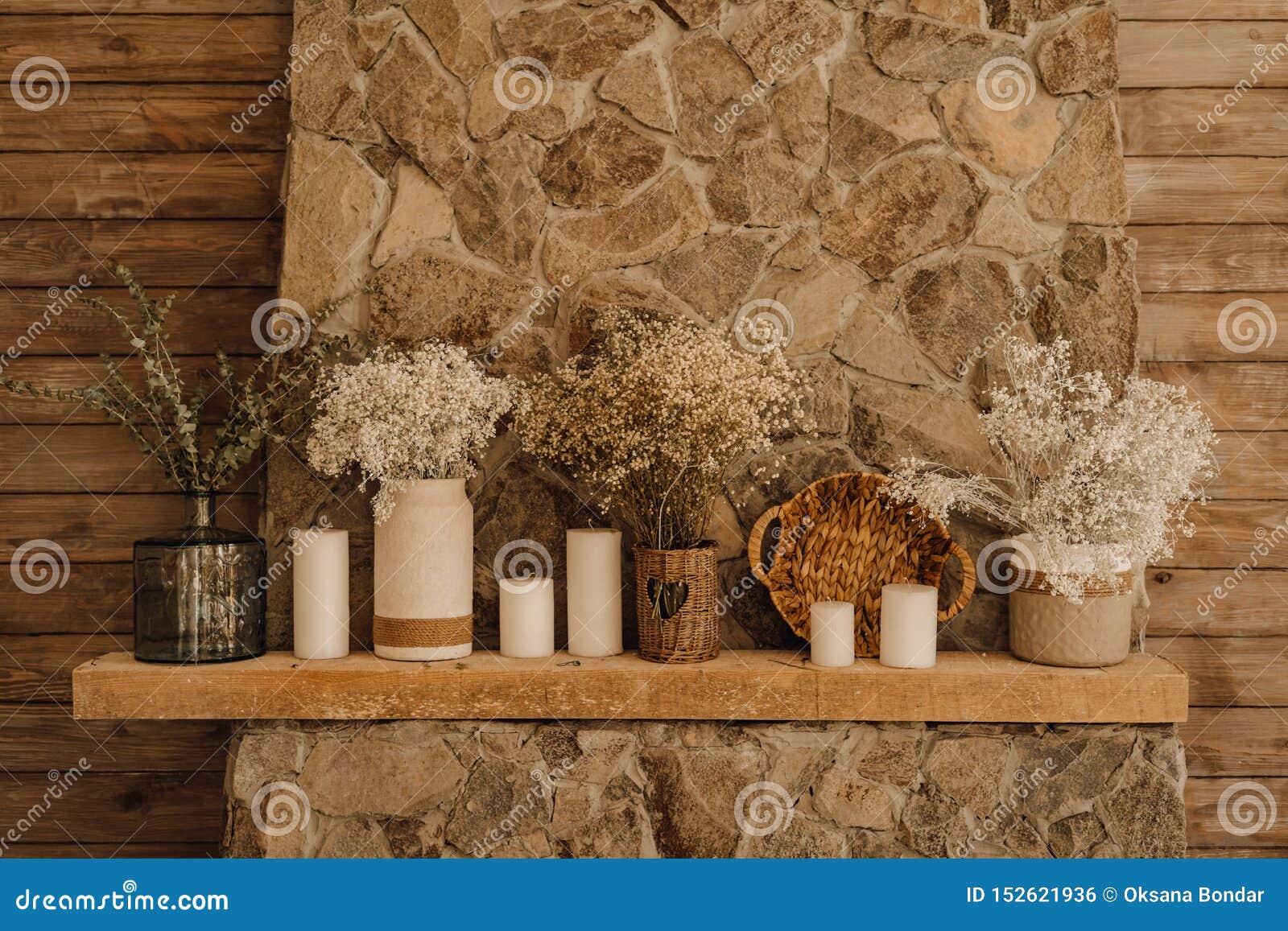 Interieur De Salon De Decor De Manteau De Cheminee De Cheminee Photo Stock Image Du Salon Manteau 152621936