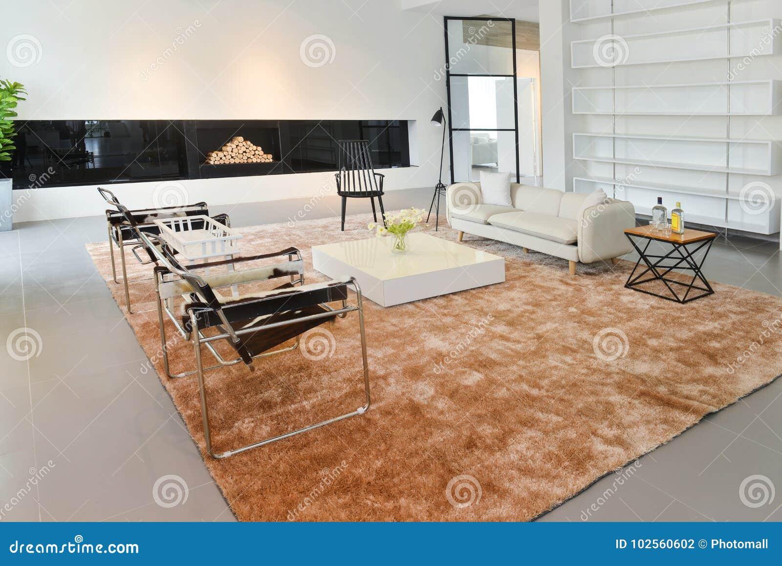 Intérieur De Salon De Maison Moderne Photo stock - Image du ...