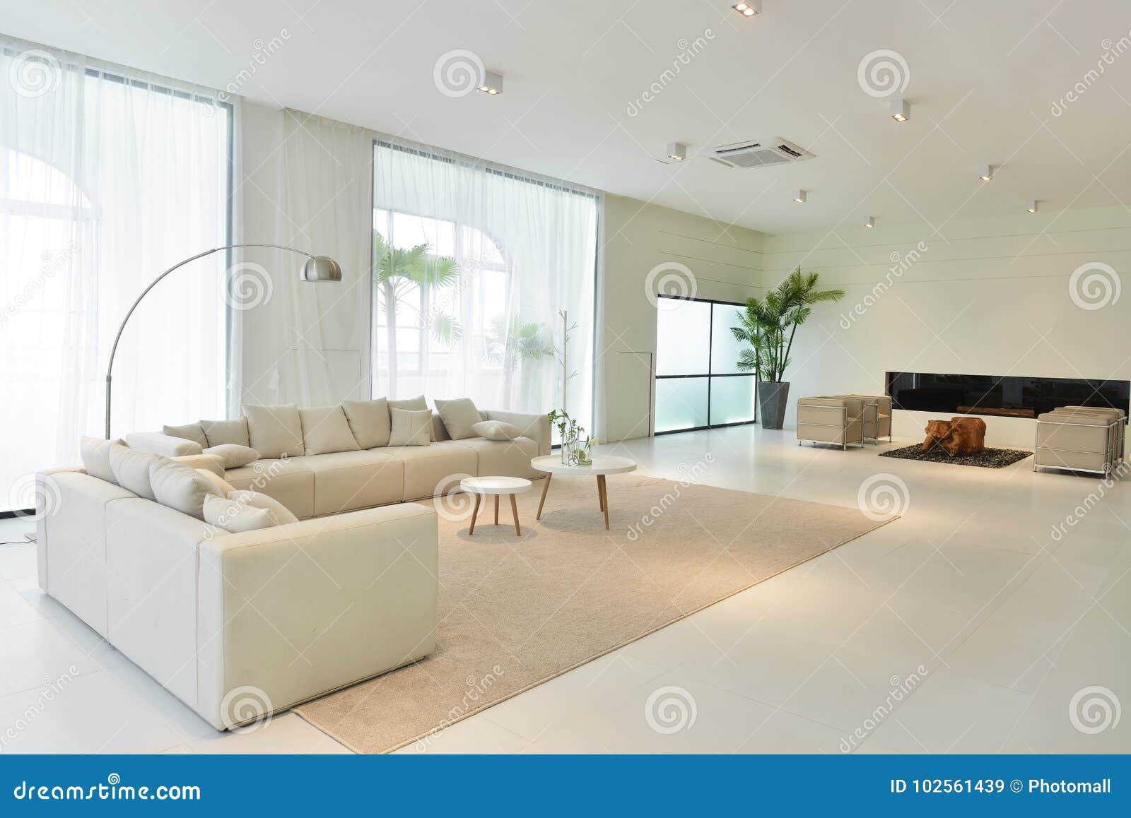 Interieur Maison Moderne Architecte intérieur de salon de maison moderne image stock - image du
