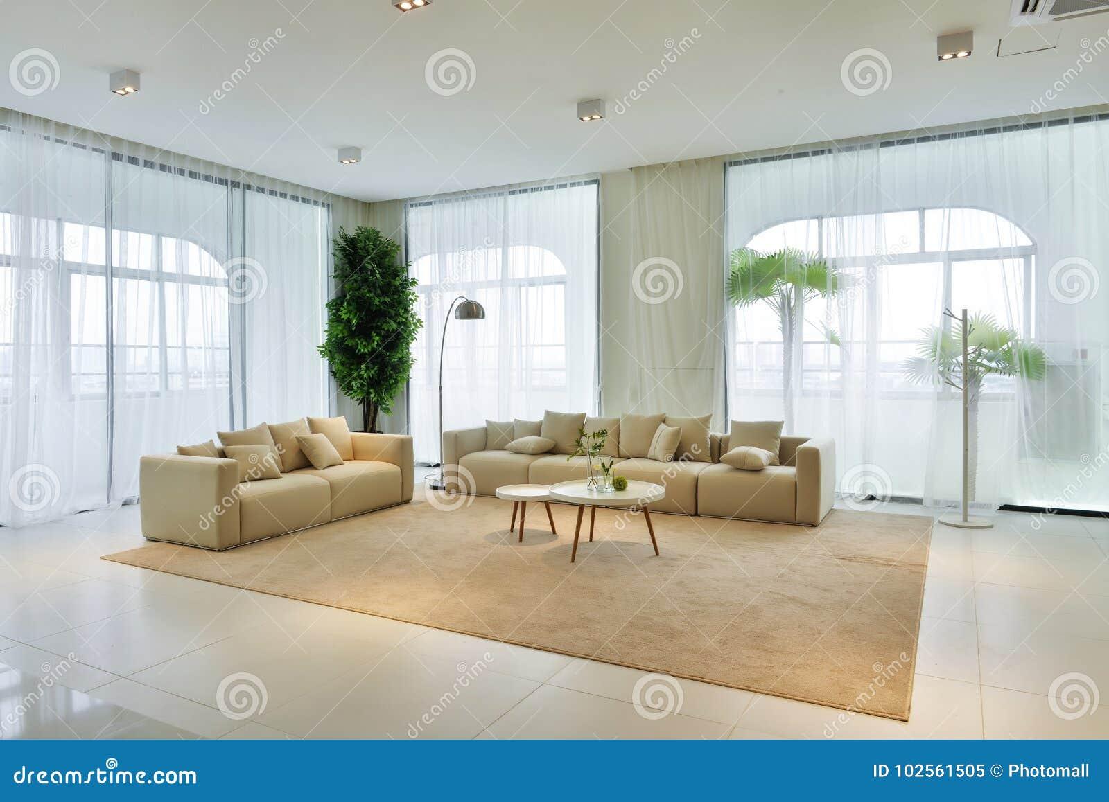 Intérieur De Salon De Maison Moderne Image stock - Image du ...