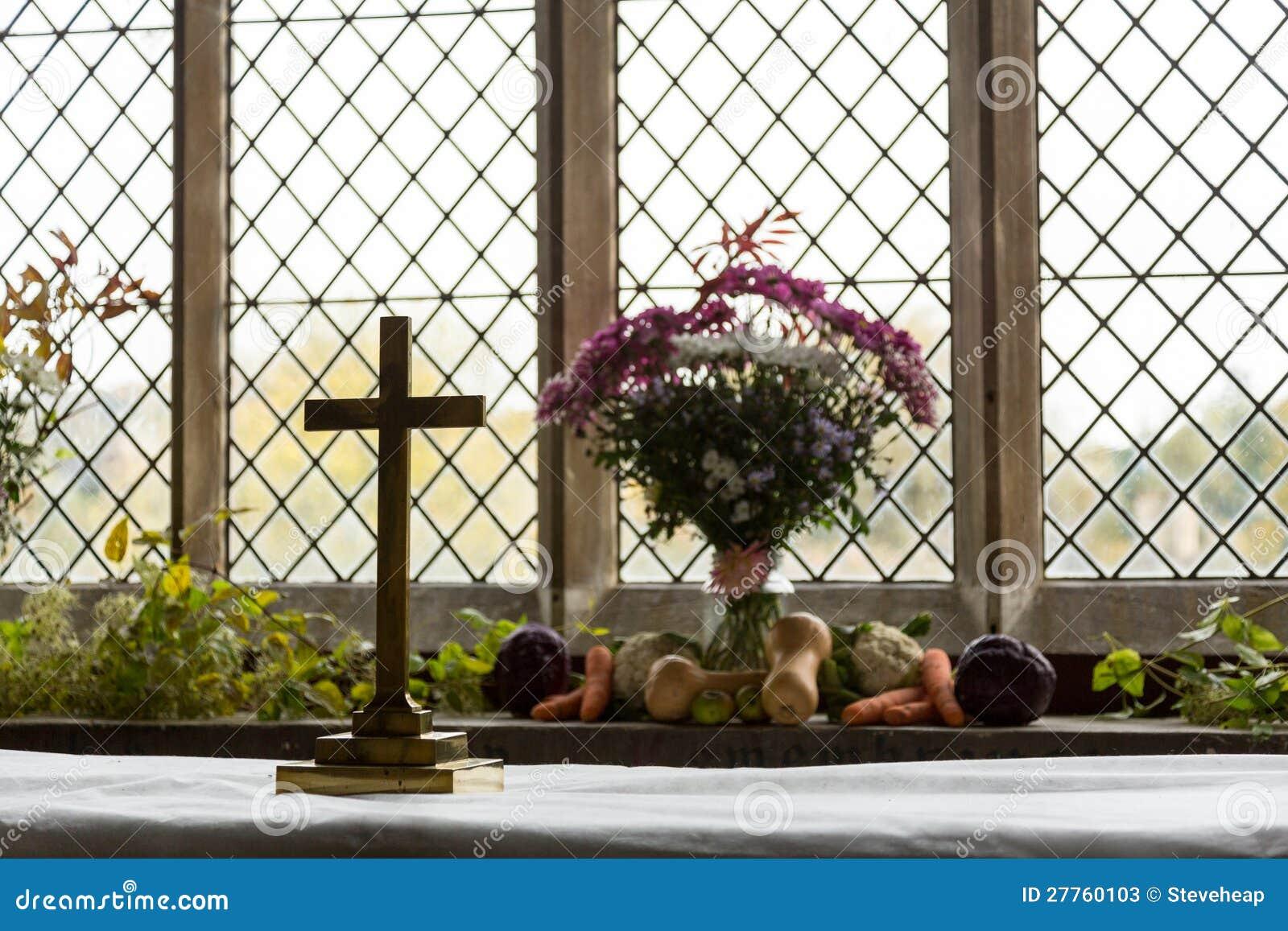 Intérieur de St Mary Church Swinbrook