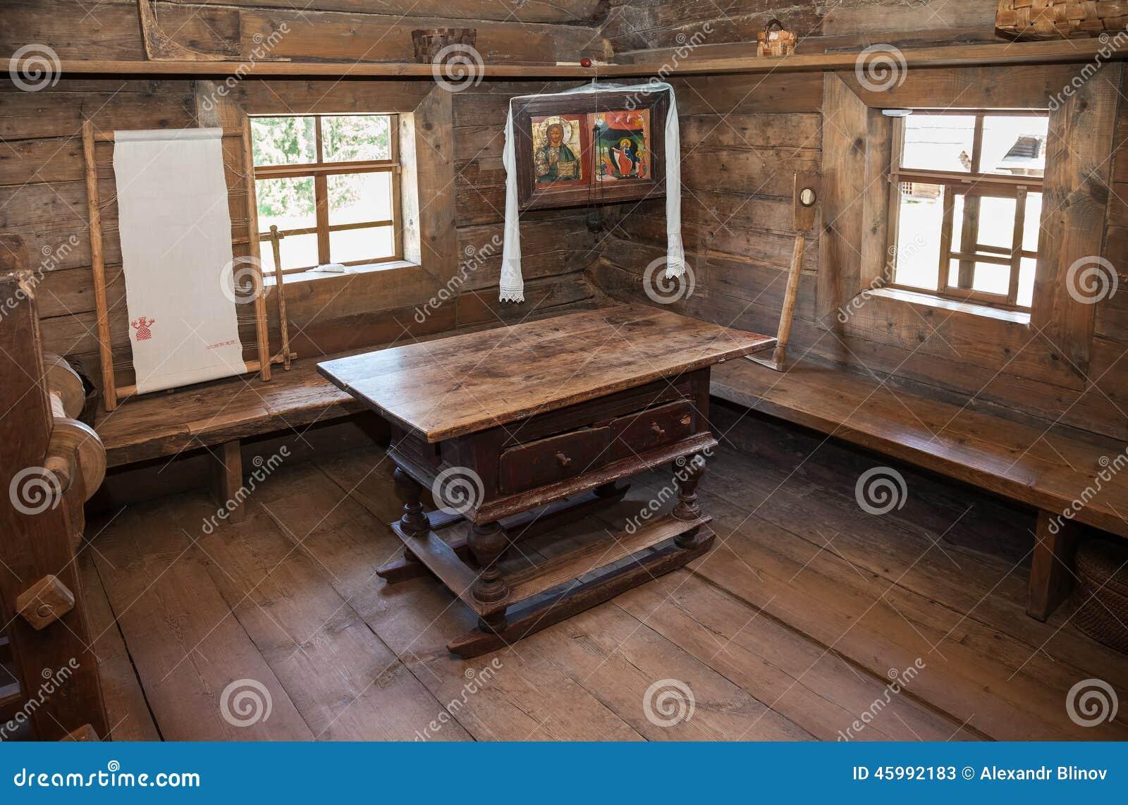 Interieur d une maison en bois maison moderne for Interieur d une maison