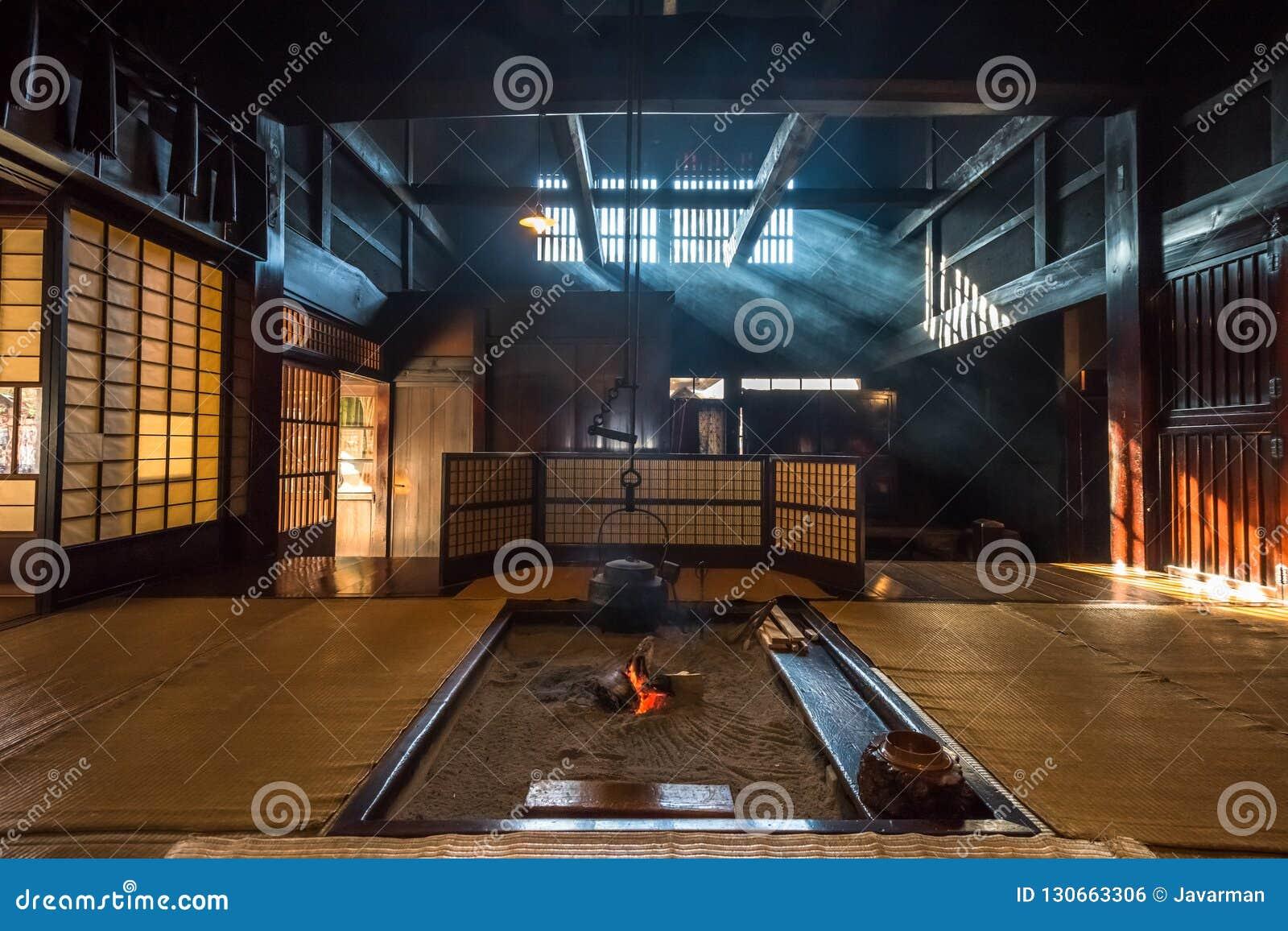 Interieur Maison Japonaise Traditionnelle intérieur de vieille maison japonaise traditionnelle dans