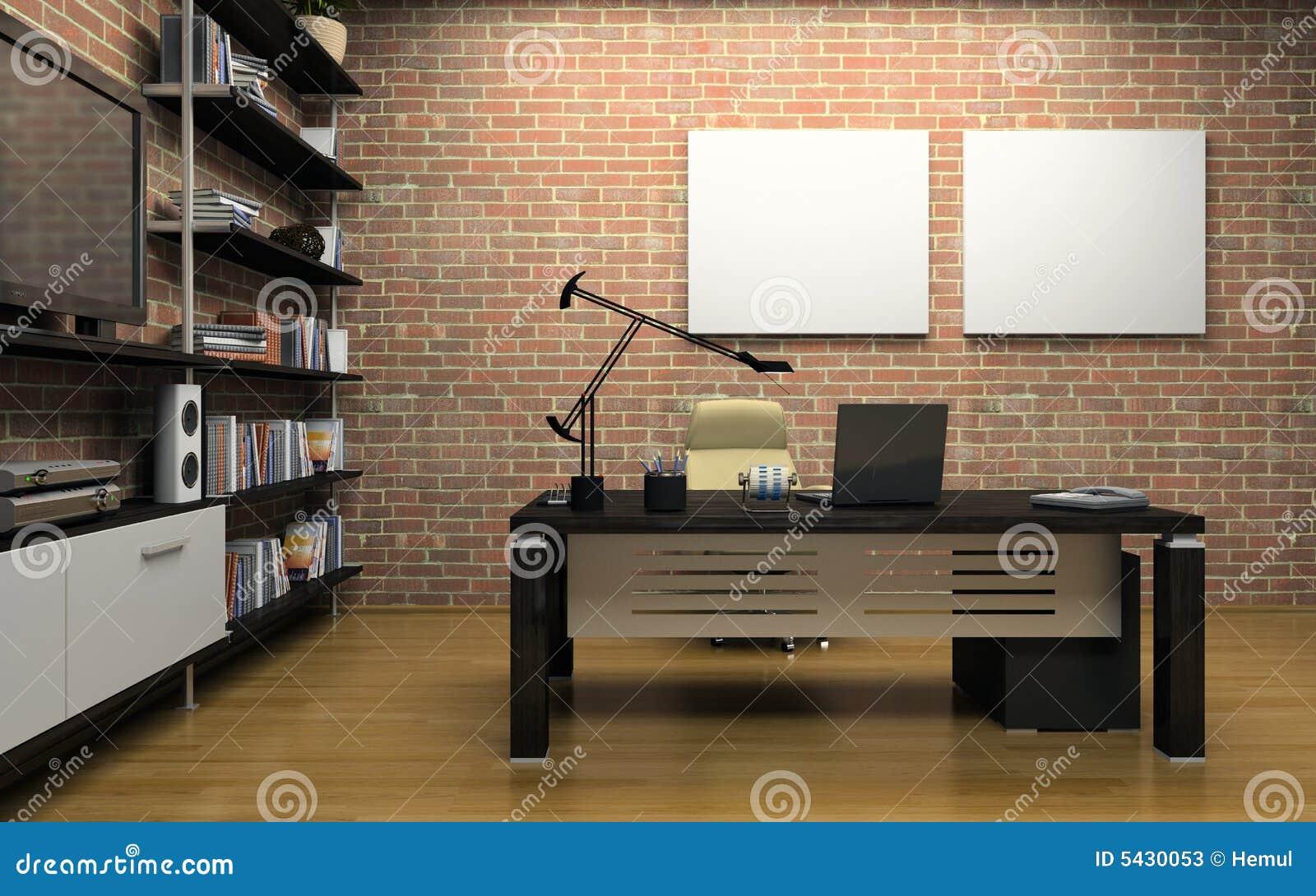 Intérieur du bureau privé
