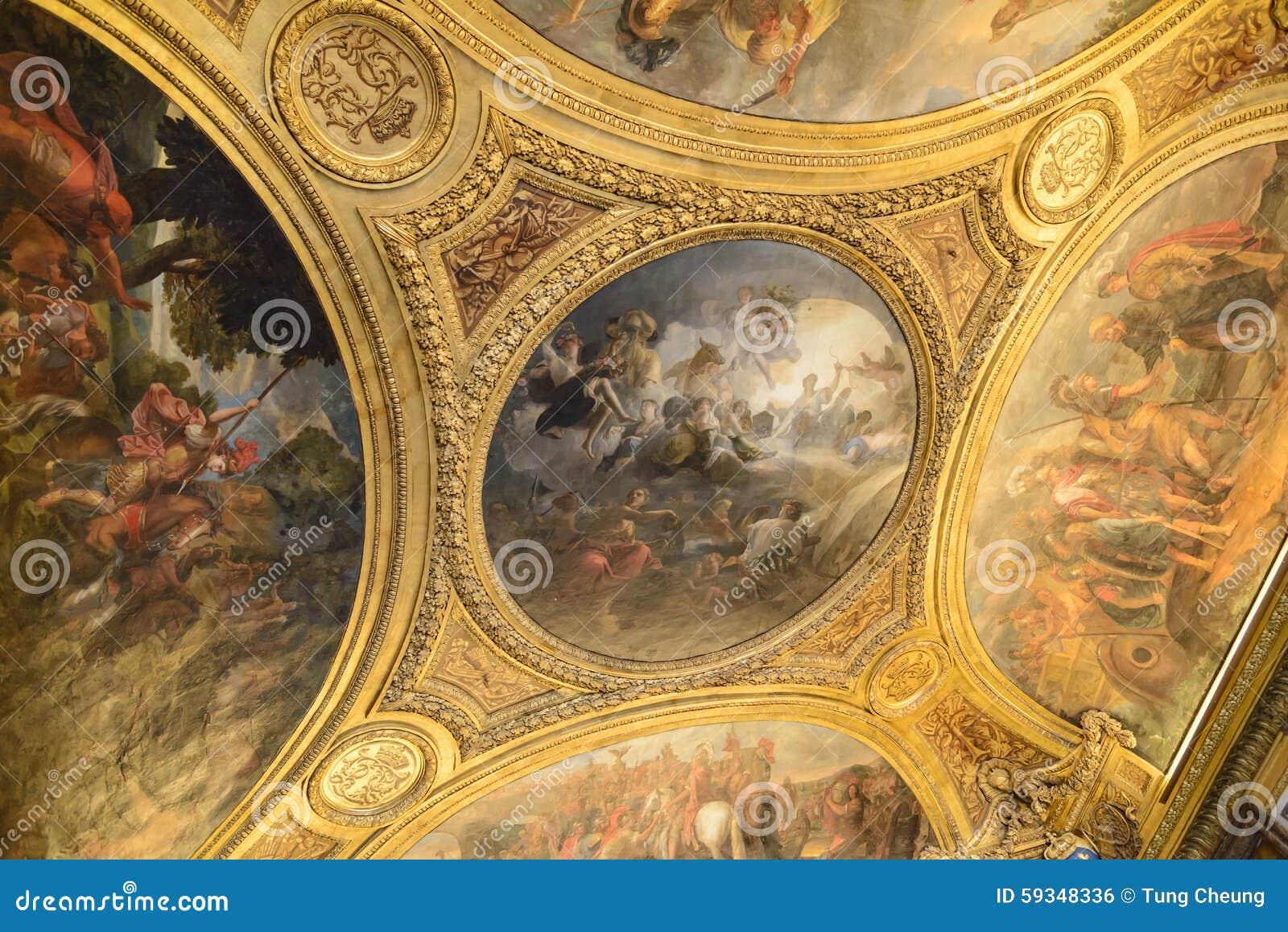 Int rieur du ch teau de versailles palais de versailles for Chateau de versailles interieur