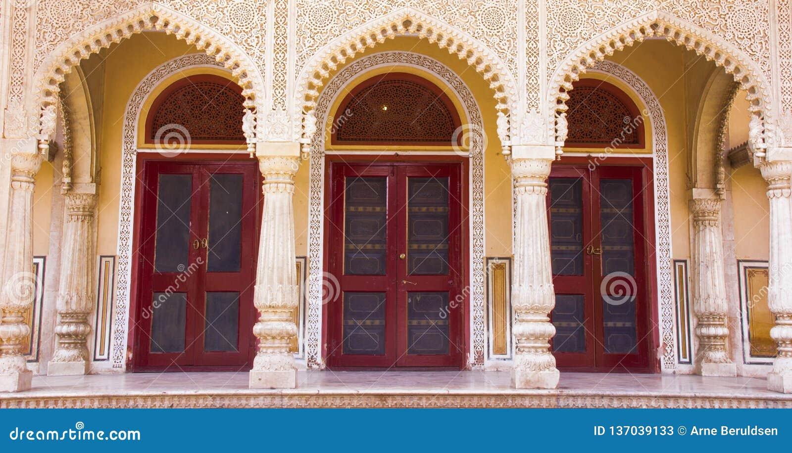 Intérieur du palais Jaipur, Inde de ville