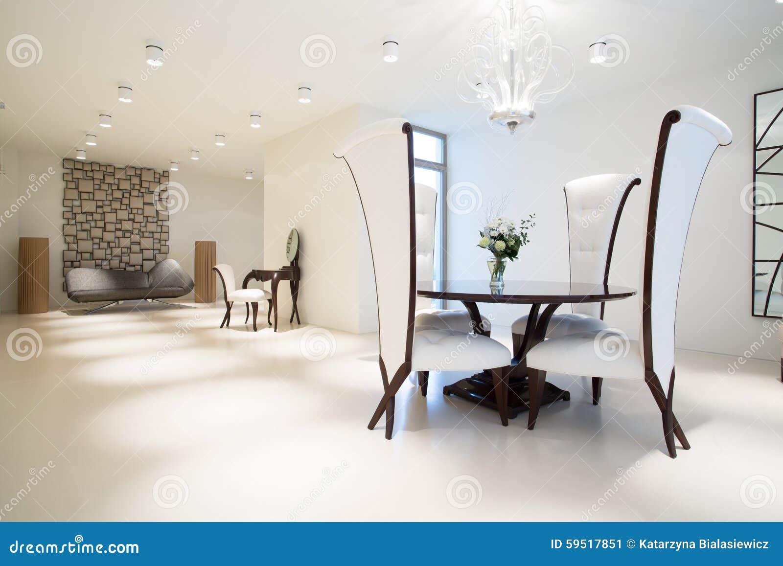 Interieur Exclusif Avec Les Meubles Modernes Image Stock Image Du