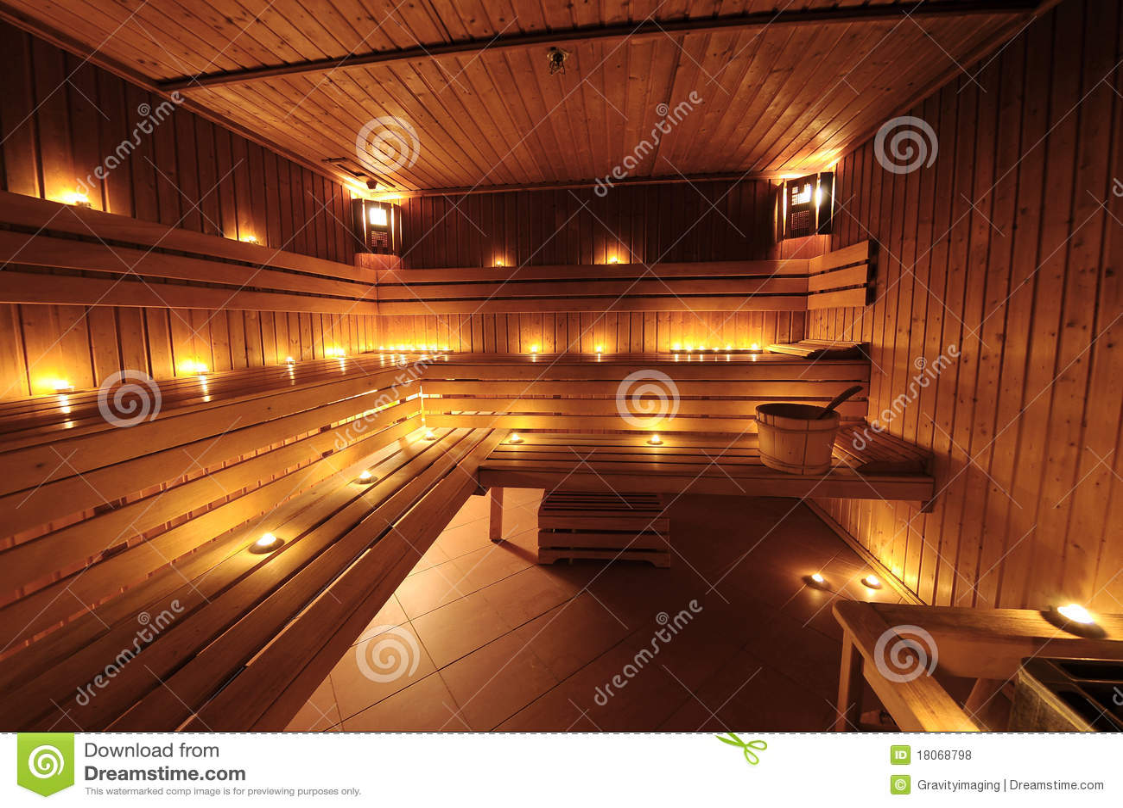 int rieur finlandais de sauna. Black Bedroom Furniture Sets. Home Design Ideas