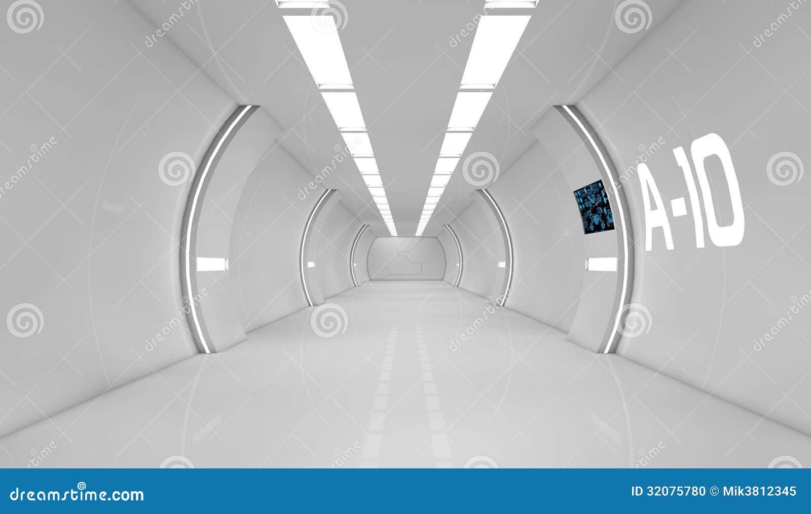 Intérieur futuriste