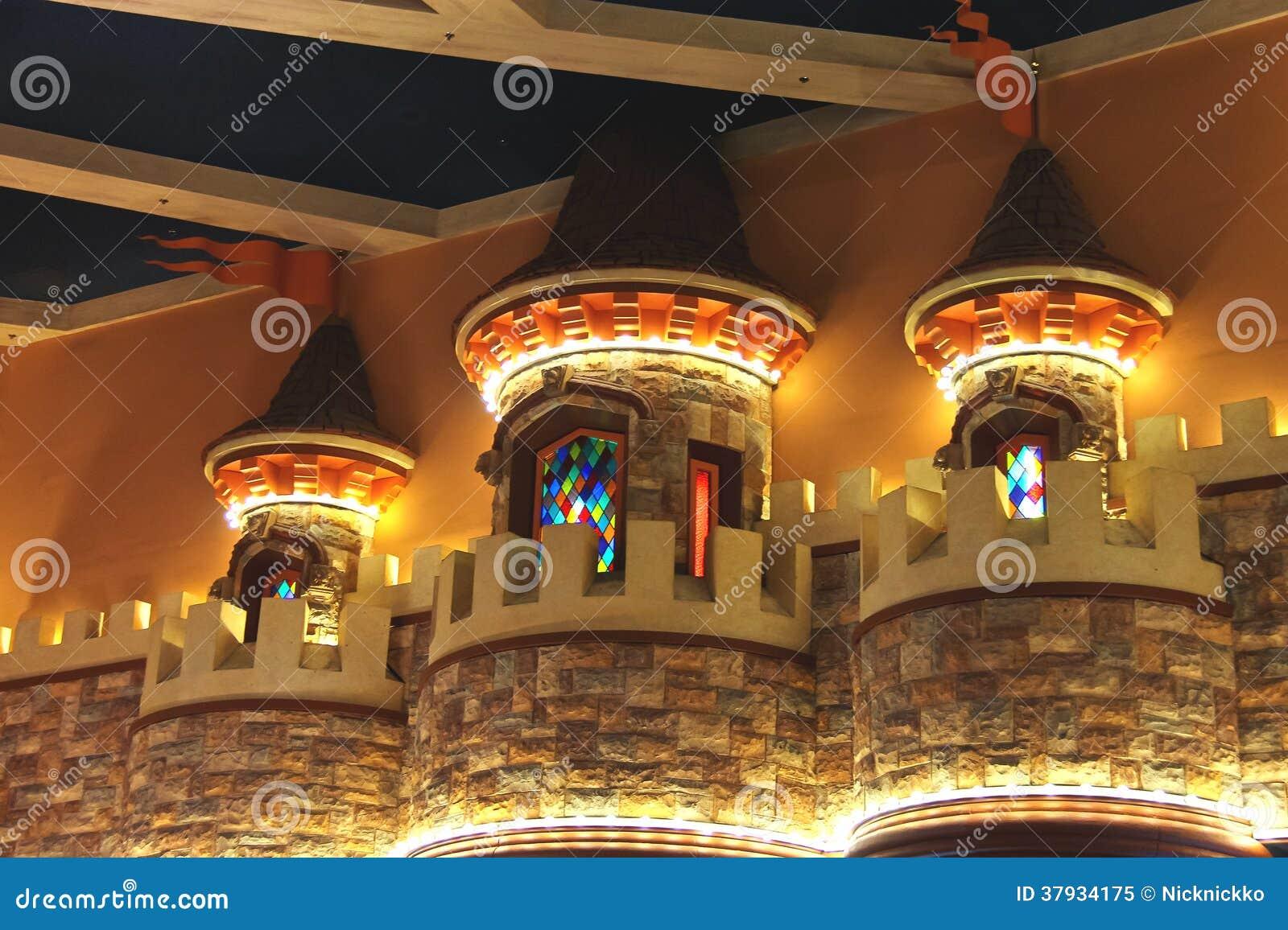 Int rieur l 39 h tel et le casino d 39 excalibur las vegas for Hotel interieur