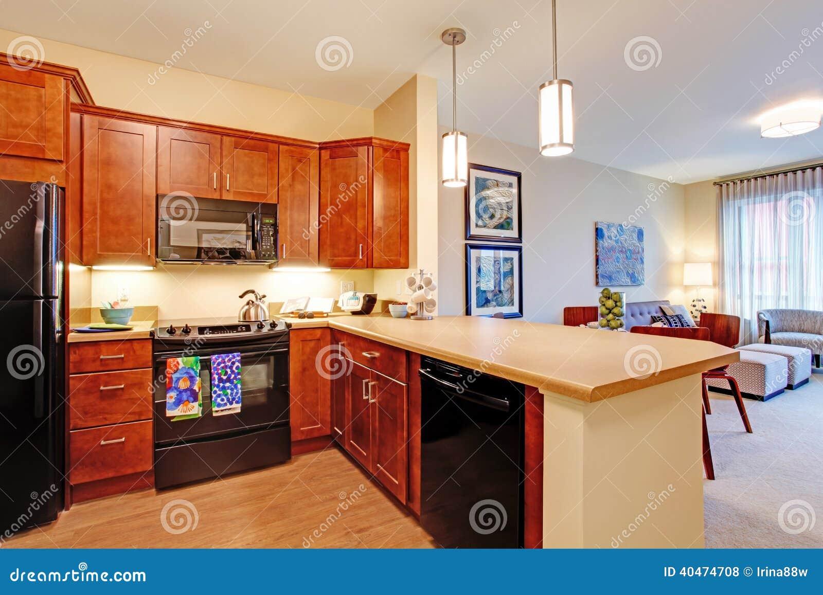 modernes appartement interieur, intérieur moderne d'appartement plan d'étage ouvert photo stock, Design ideen