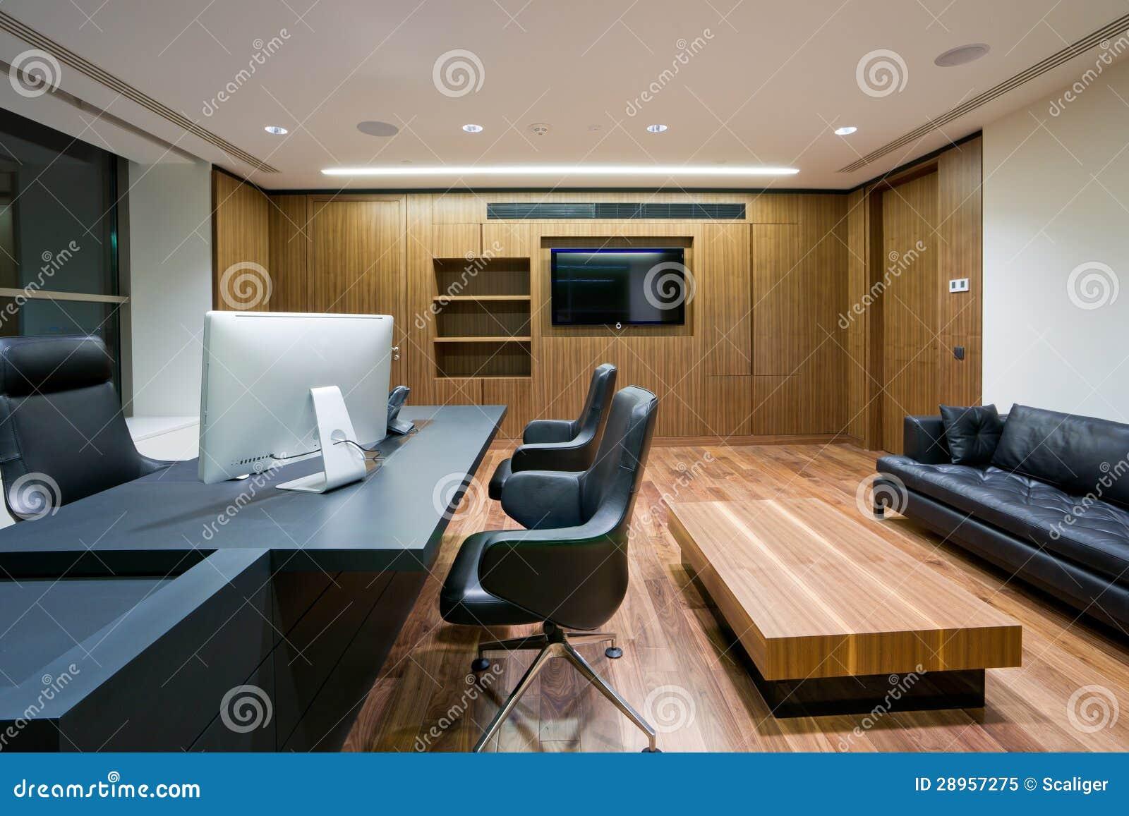 Intérieur moderne de bureau image stock image du affaires couleur