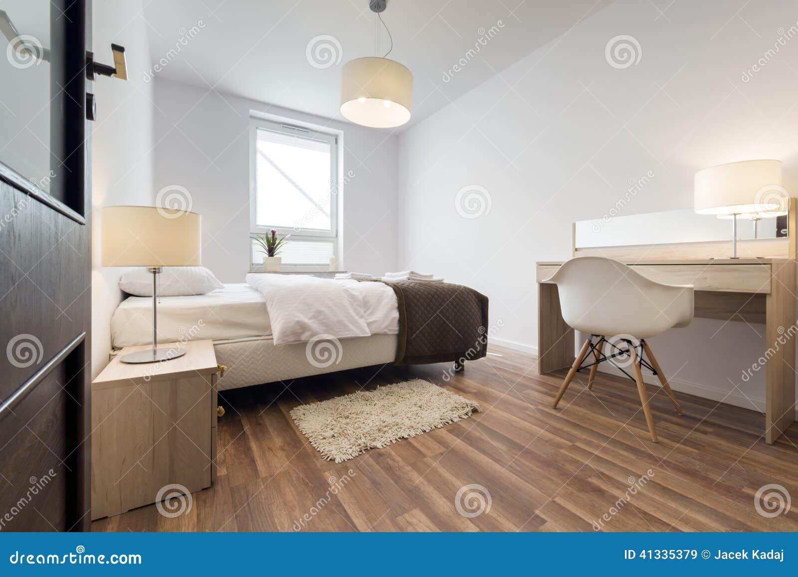 Intérieur Moderne De Chambre à Coucher Image stock - Image du ...