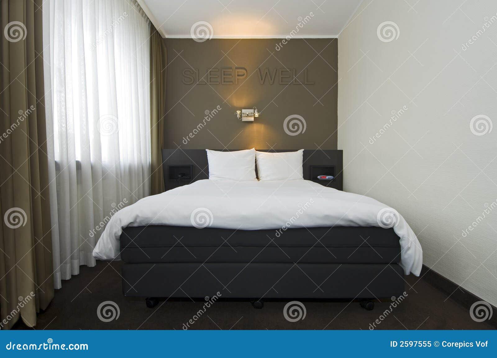Int rieur moderne de chambre d h tel for Interieur chambre