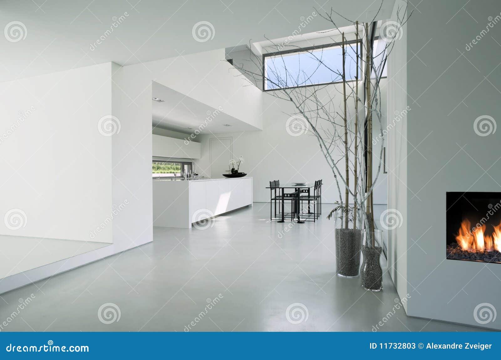 Intérieur moderne de maison