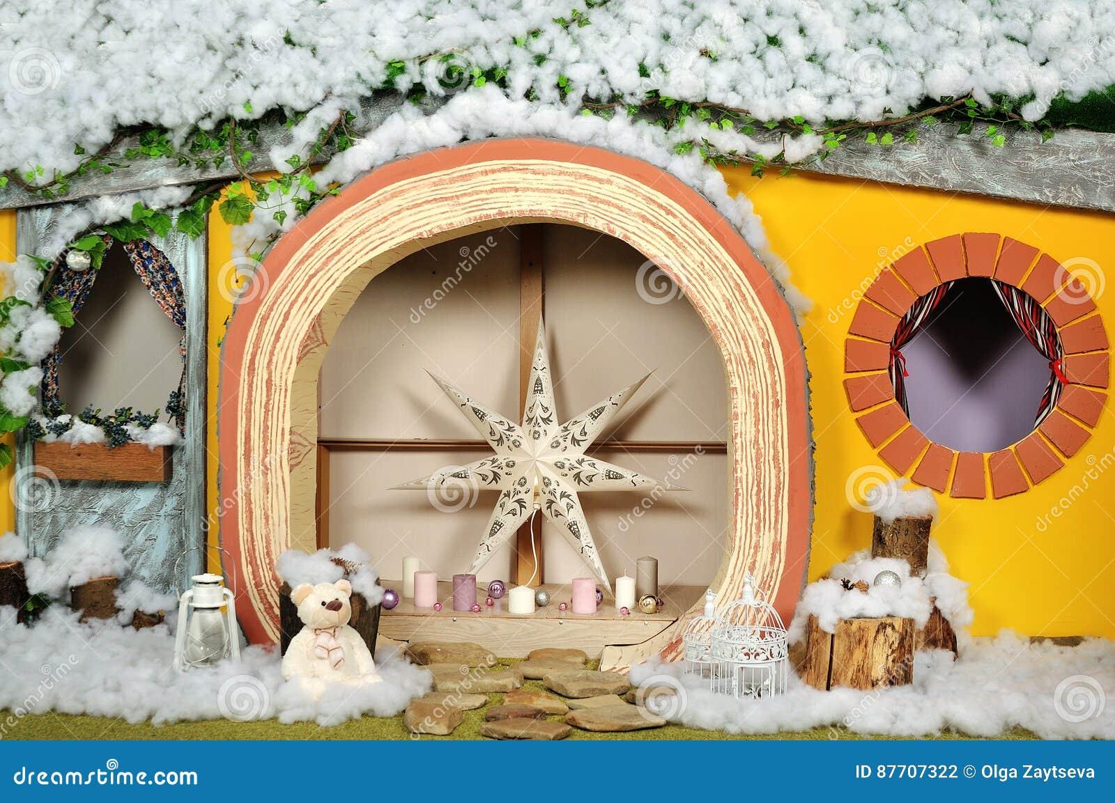 Intérieur nouvelle du style d année et de Noël