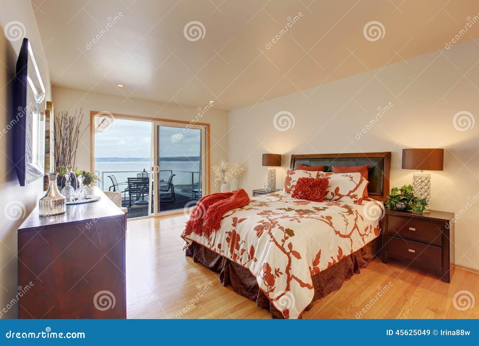 Int Rieur Romantique De Chambre Coucher Principale Avec