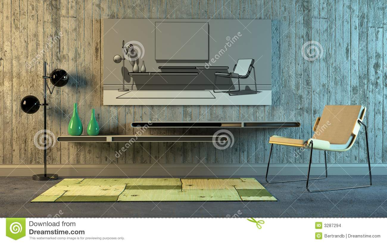 Int rieur scandinave images stock image 3287294 for Interieur scandinave