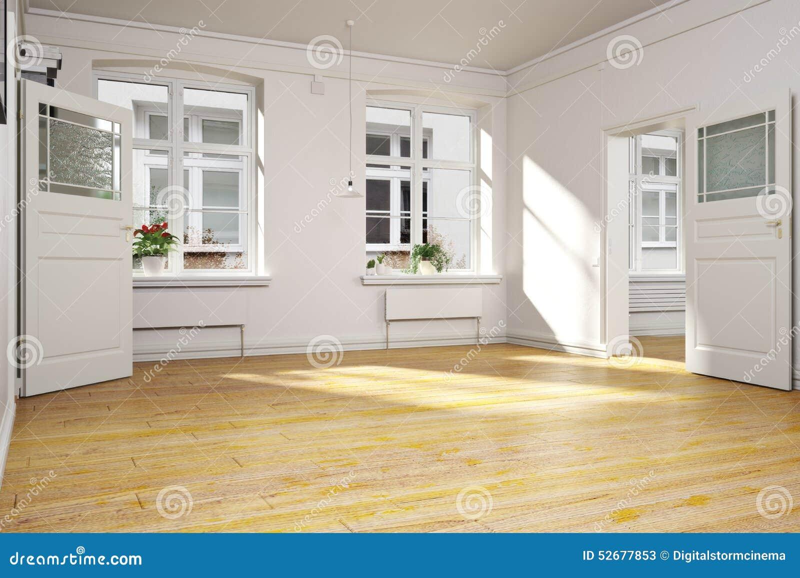 Intérieur Vide Traditionnel D\'un Appartement Ou D\'une Maison ...