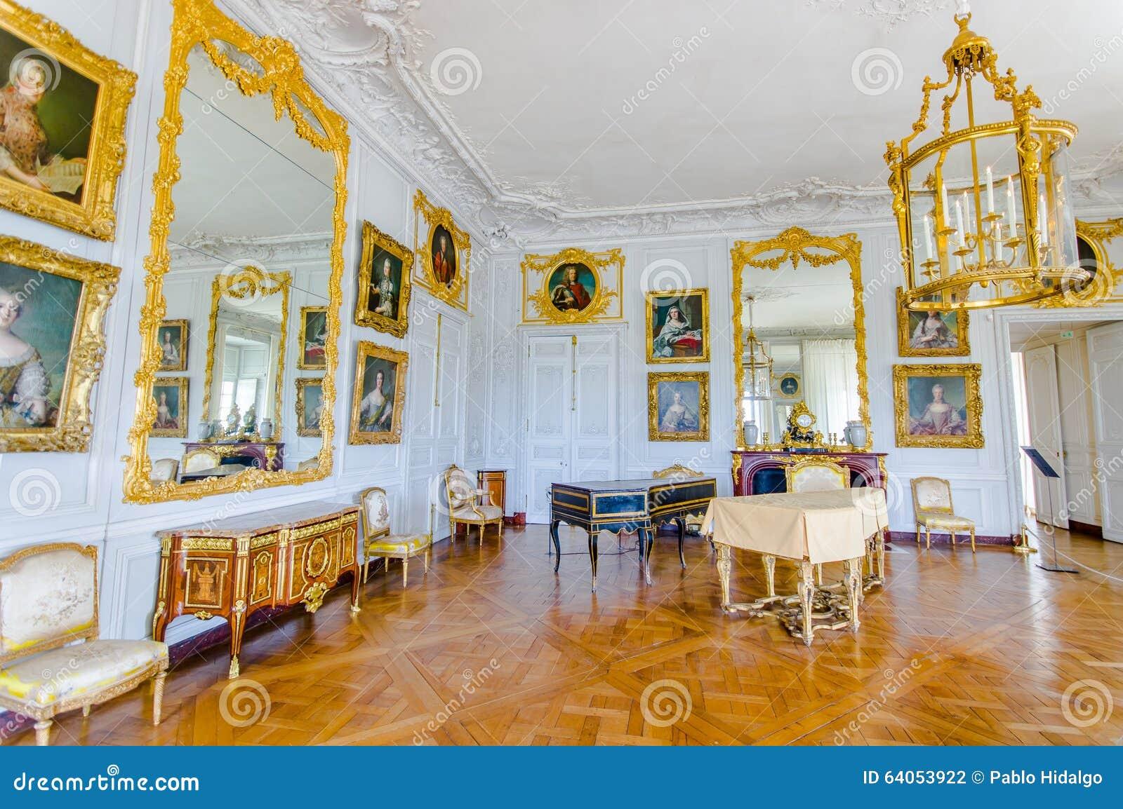 Int rieurs du ch teau de versailles pr s de paris for Chateau de versailles interieur