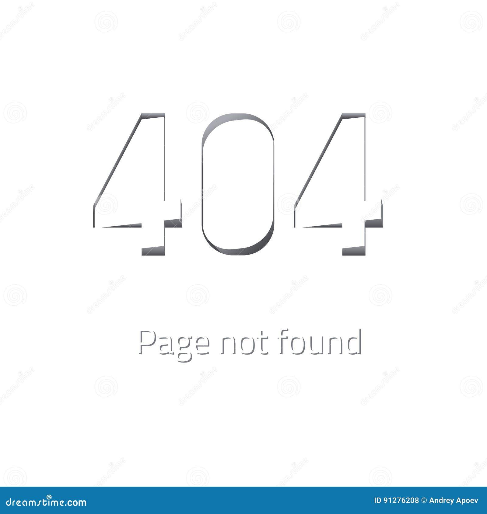 Inte-funnen sida för fel 404