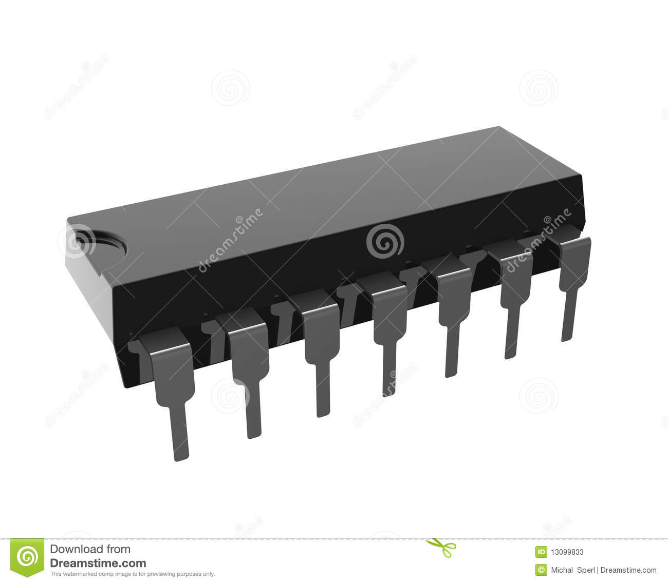 Integrated Circuit Stock Illustration Of Equipment An Download 13099833