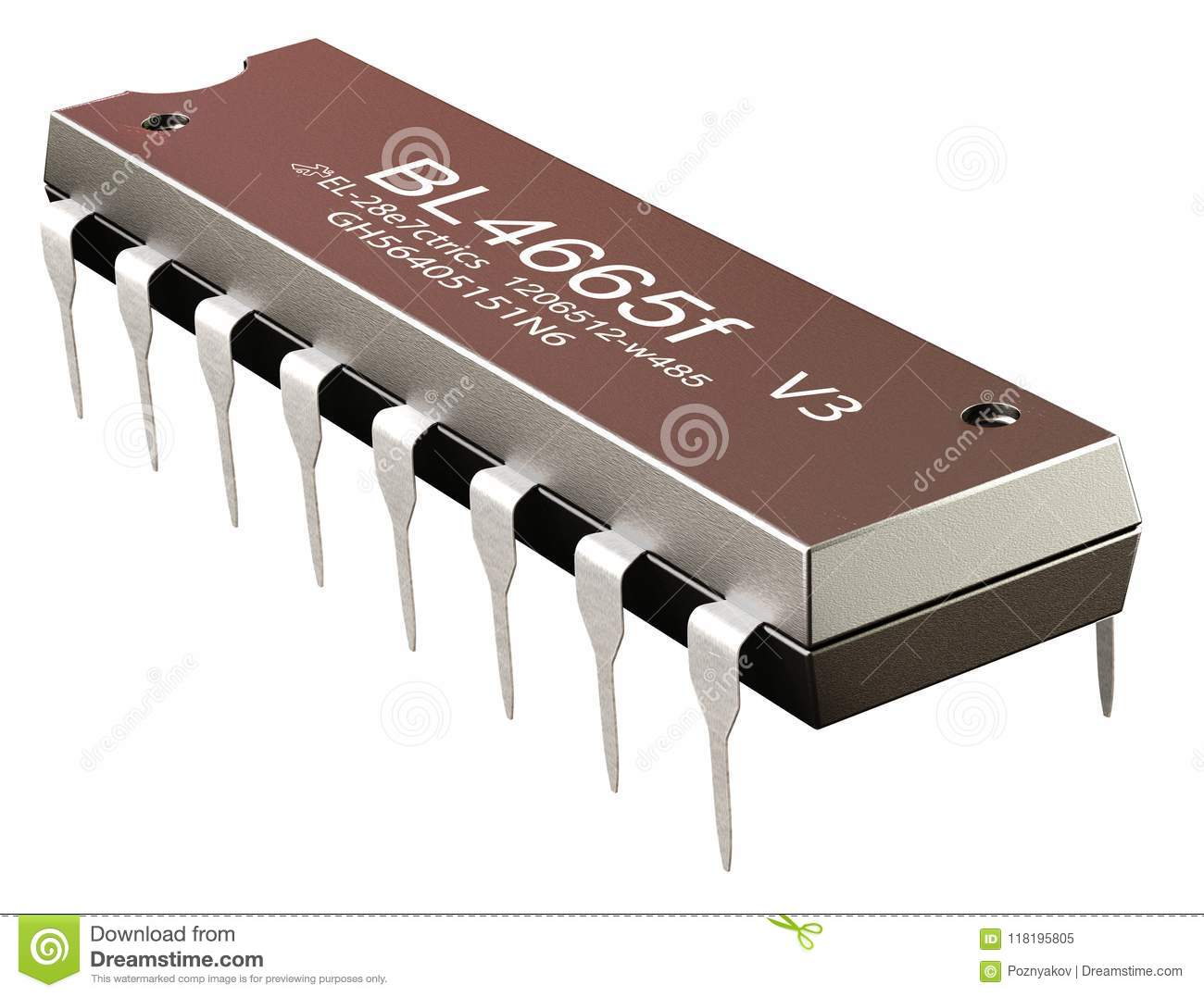 Integrated Circuit Or Micro Chip And New Technologies On Isolated Icintegrated Ic Component Electronic Computer Part Sapplication Specific Asic Cmos Of Llinear Voltage Regulators