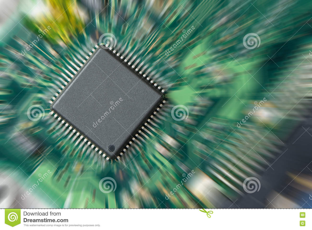Integrated Circuit Stock Image Of Hardware Chips 78495425 Circuits Download