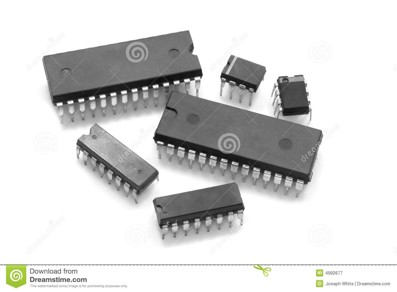 Integrated Circuits Stock Image Of Electronic Circuit 4992677 Where To Buy