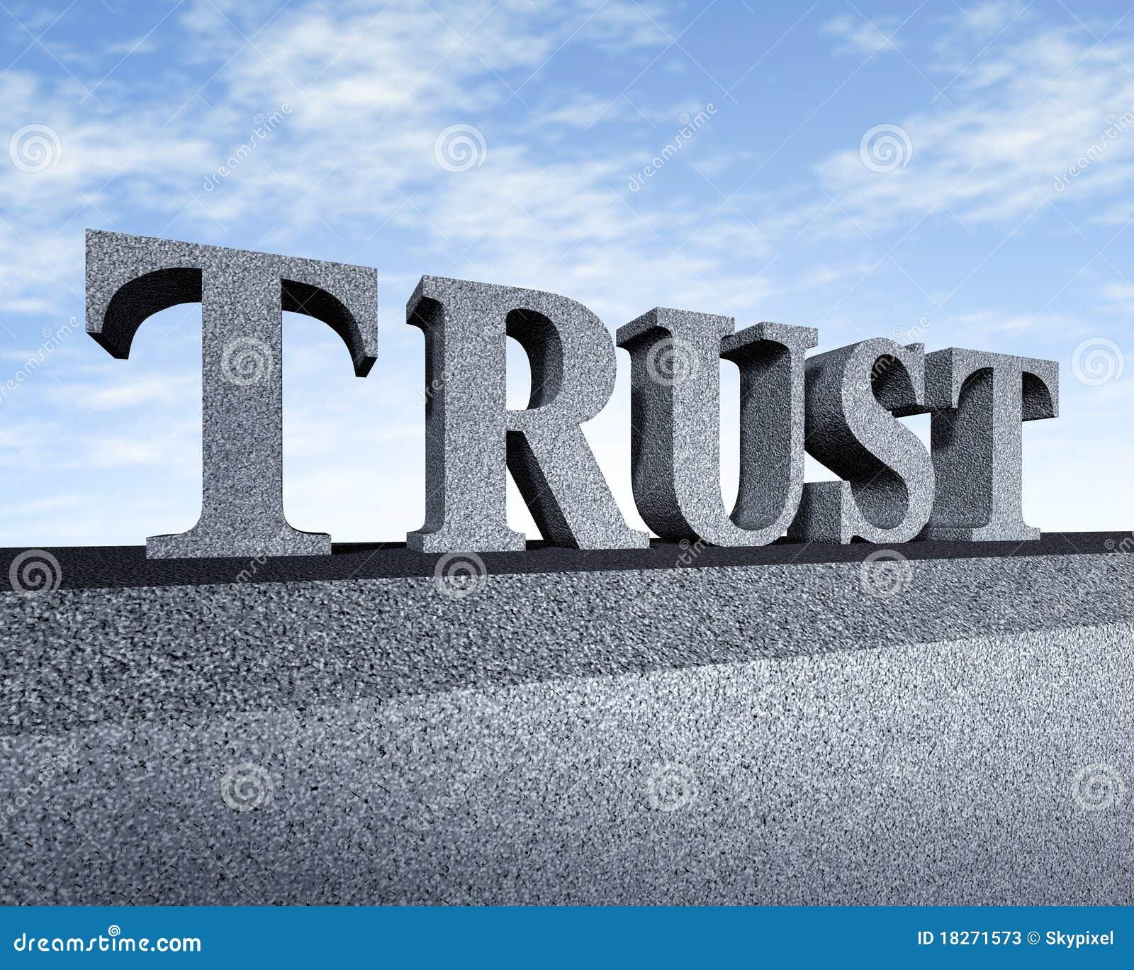 Integridad financiera del símbolo del asunto del honor de la confianza