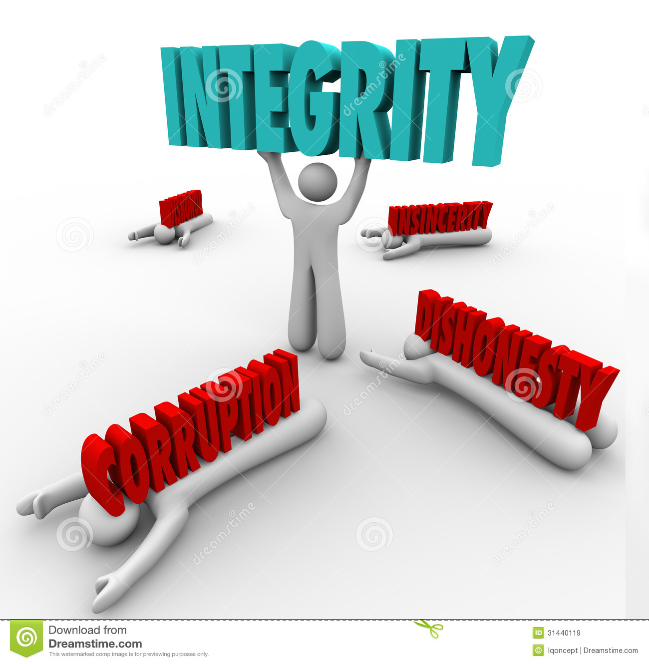Integrity Person Lifting Word Competitive Advantage Best ...