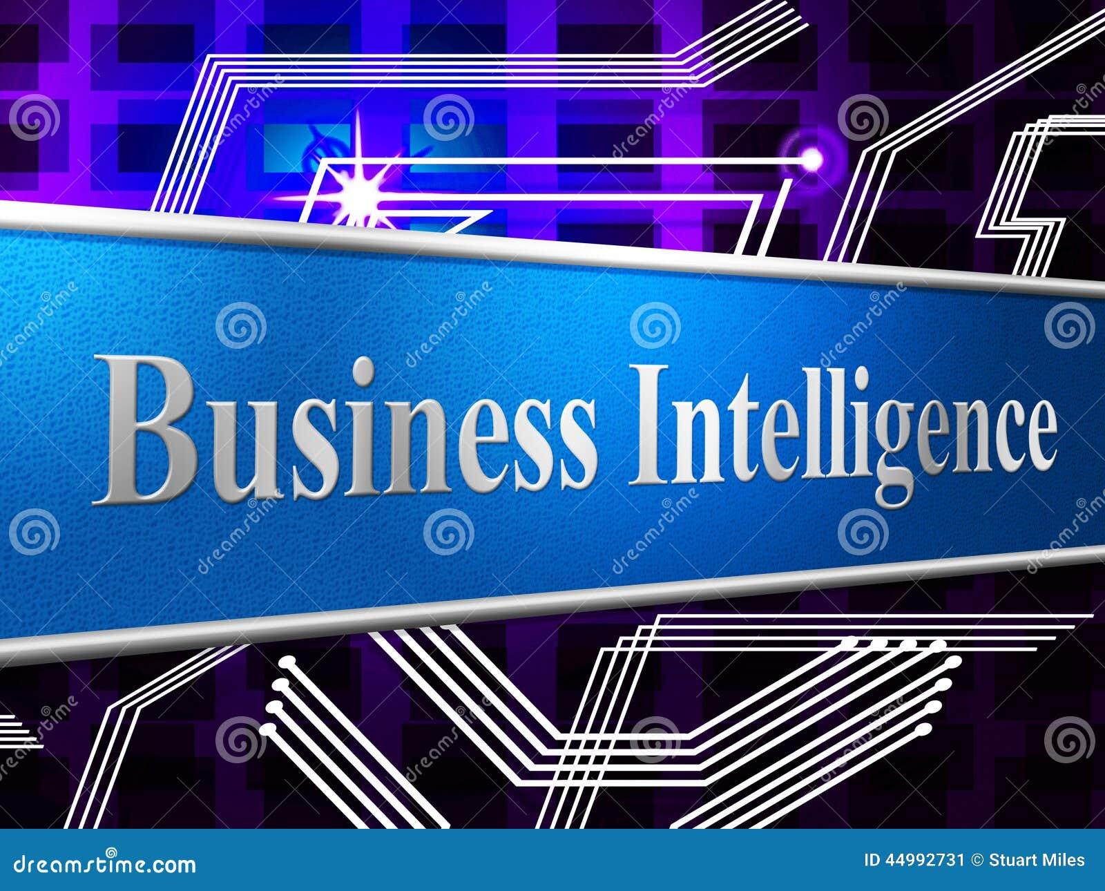 A inteligência empresarial representa a capacidade e a capacidade intelectuais