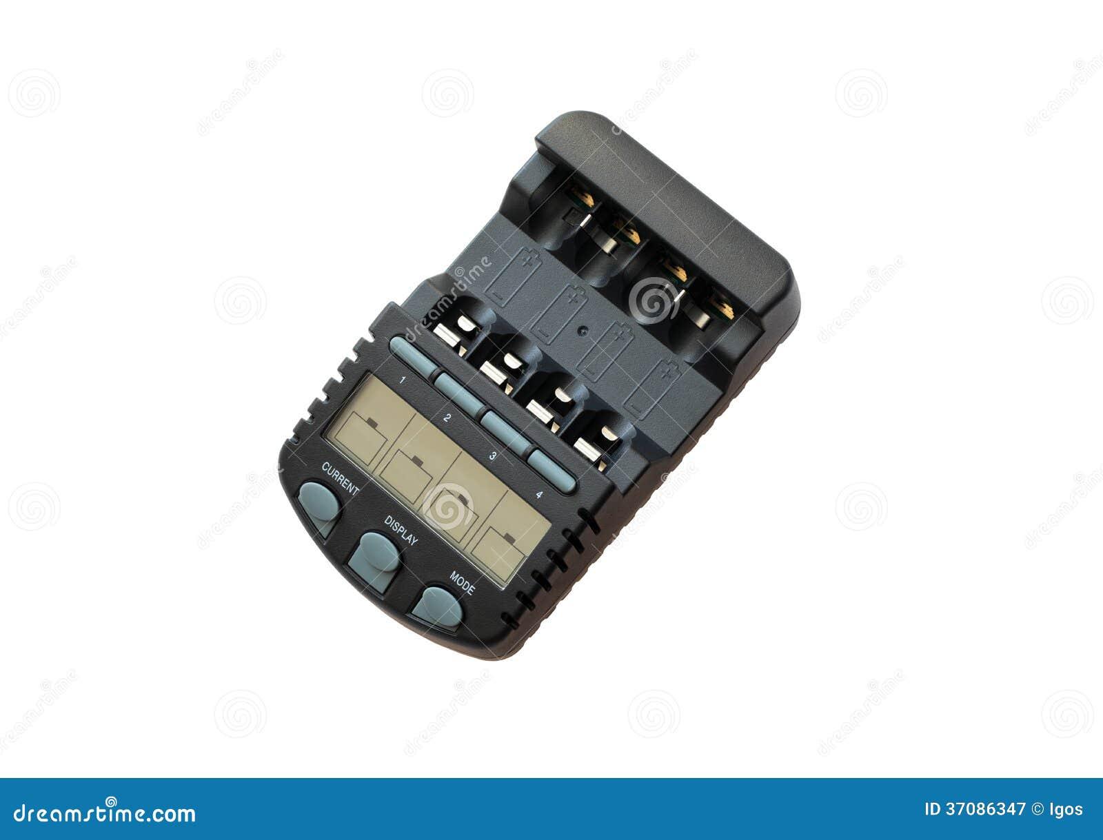 Download Inteligentna ładowarka obraz stock. Obraz złożonej z bateria - 37086347