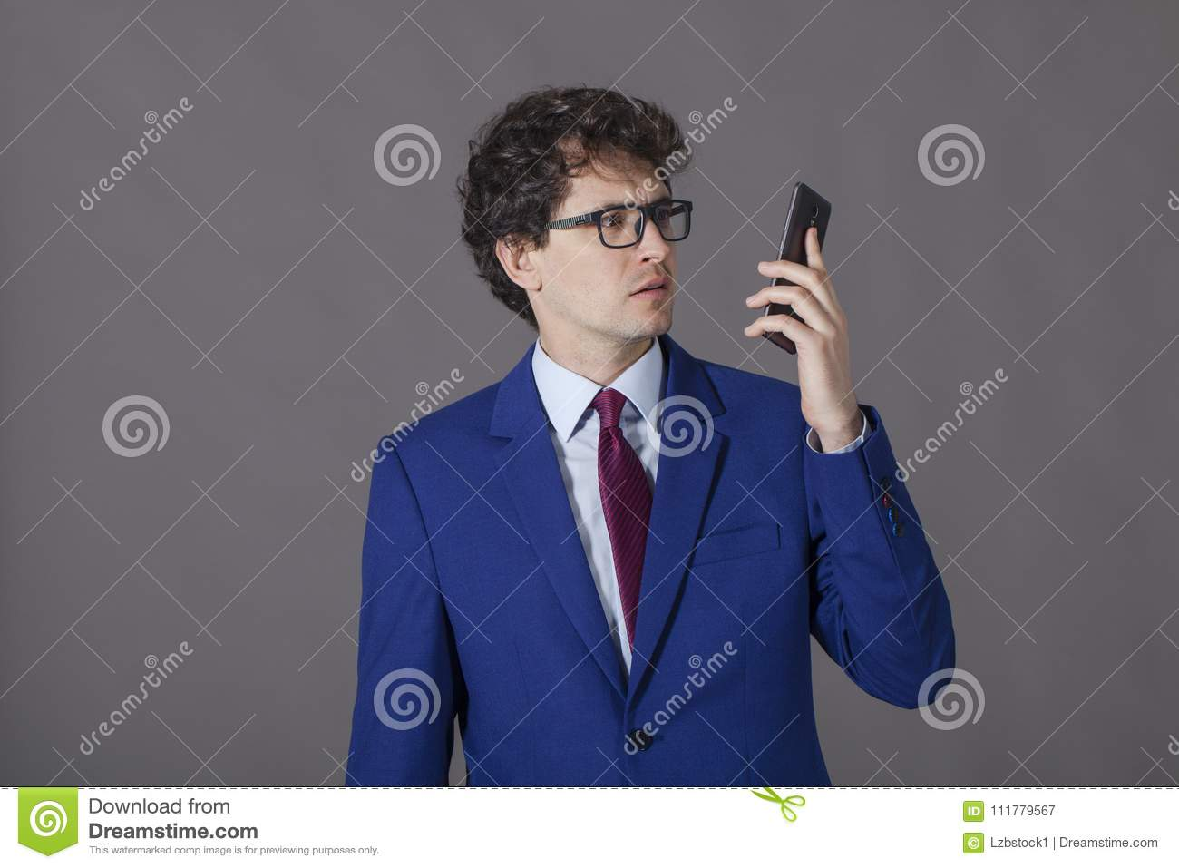 Guy with good look got bad message