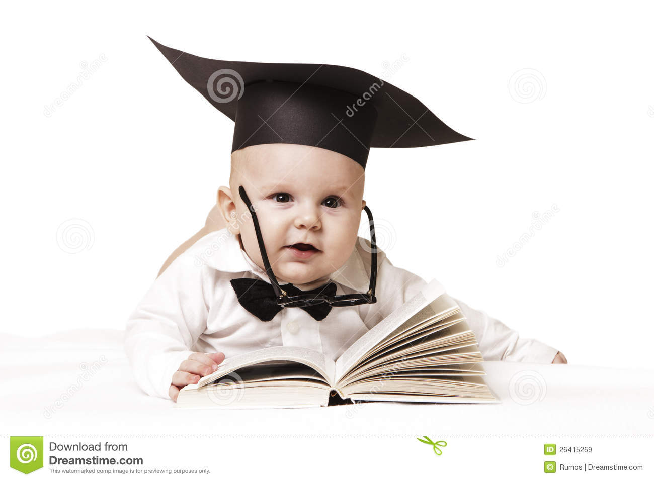 Intelligent Baby Royalty Free Stock Images - Image: 26415269