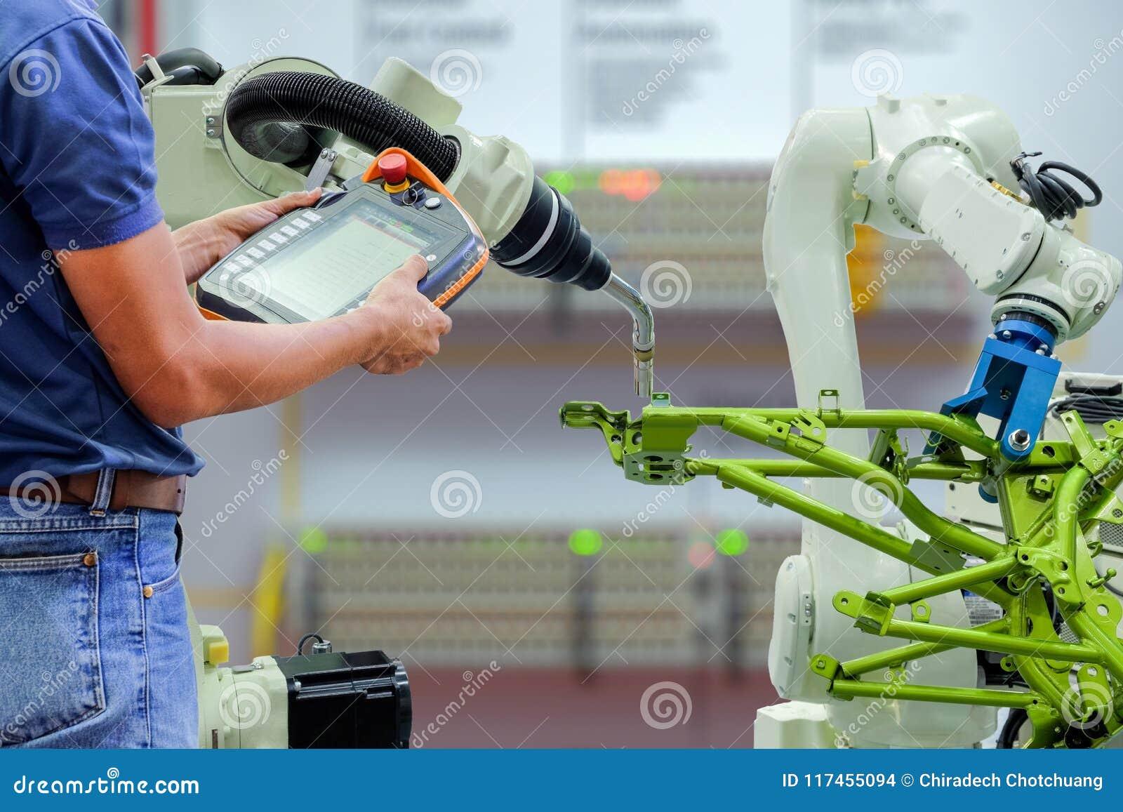 Intelligente Fabrik auf Industrie 4 0 Technologie