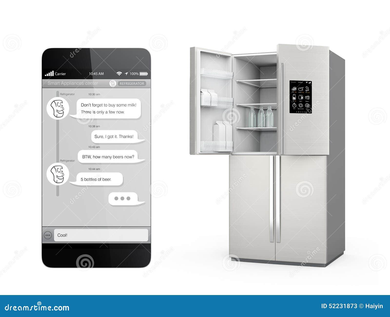 Kühlschrank Verriegeln : Intelligenter kühlschrank mit lcd bildschirm für die Überwachung