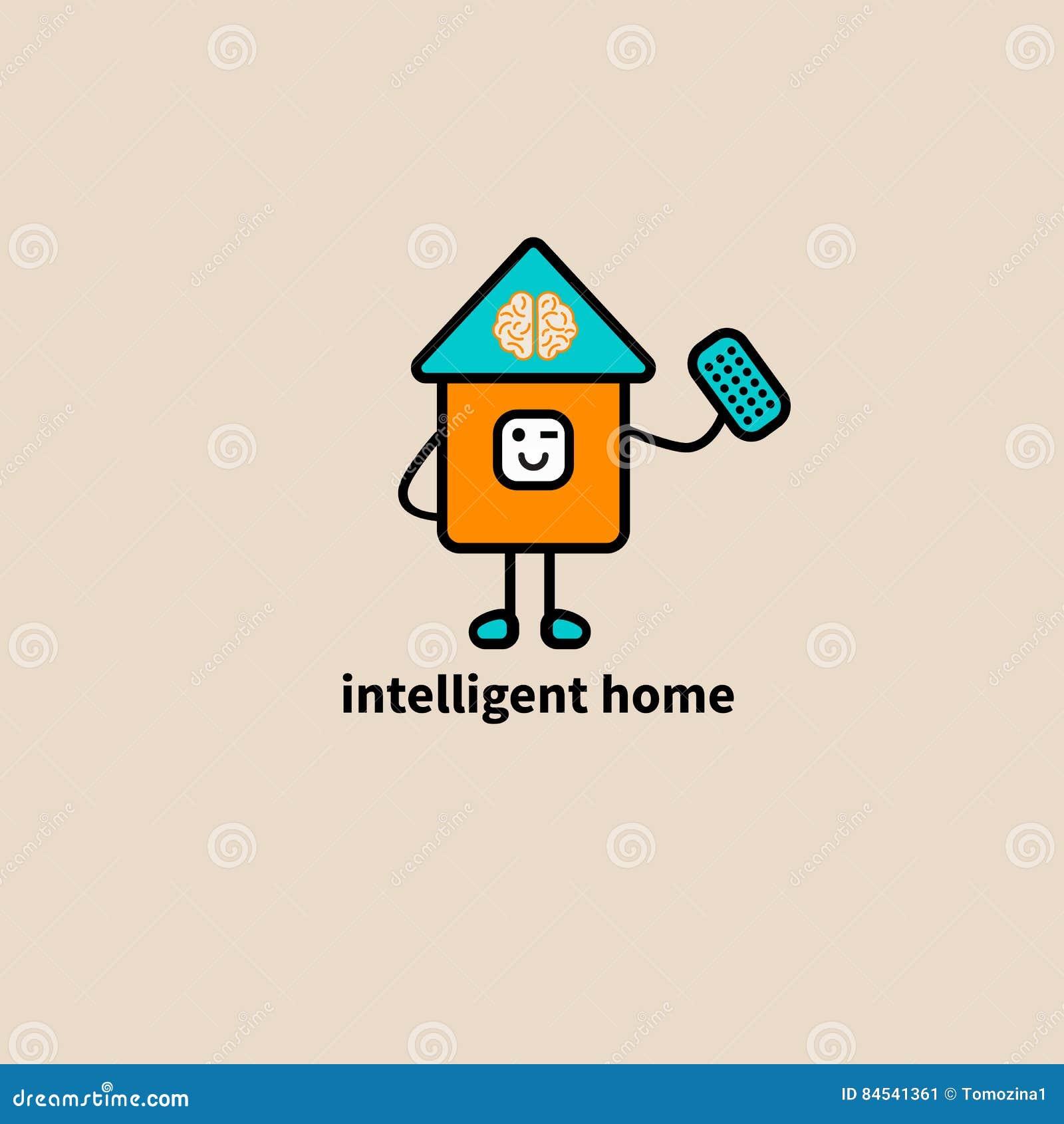 Intelligentes Haus der Ikone