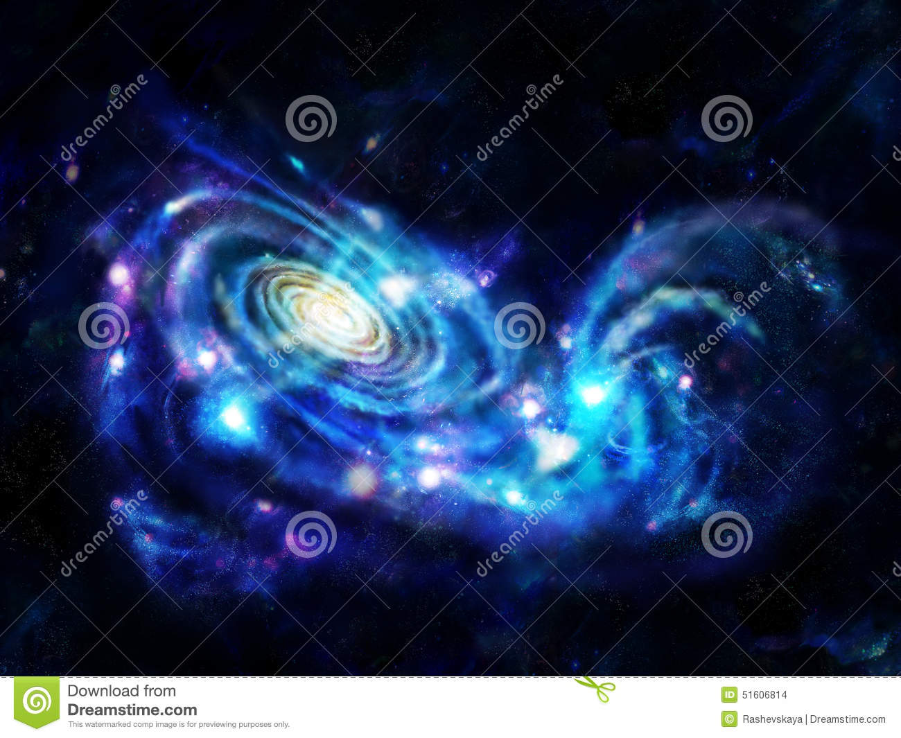 Interacting galaxies