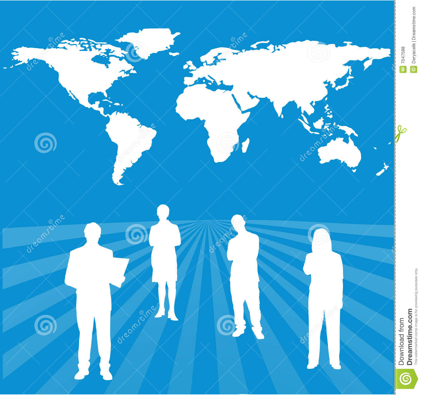 Interactive global success team with world map bac stock vector interactive global success team with world map bac gumiabroncs Images