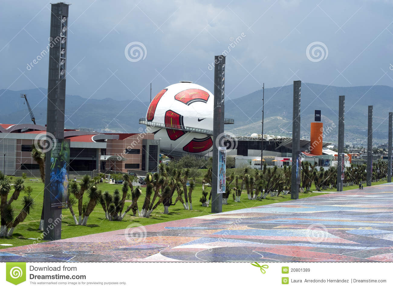 Interactive museum of Football in Pachuca Mx.
