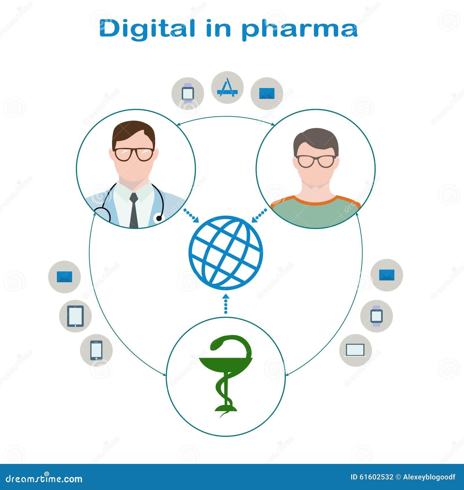 Interaktion des Patienten mit Gläsern und einer Strickjacke, ein Doktor in den Gläsern mit phonendoscope und pharmazeutischen Unt
