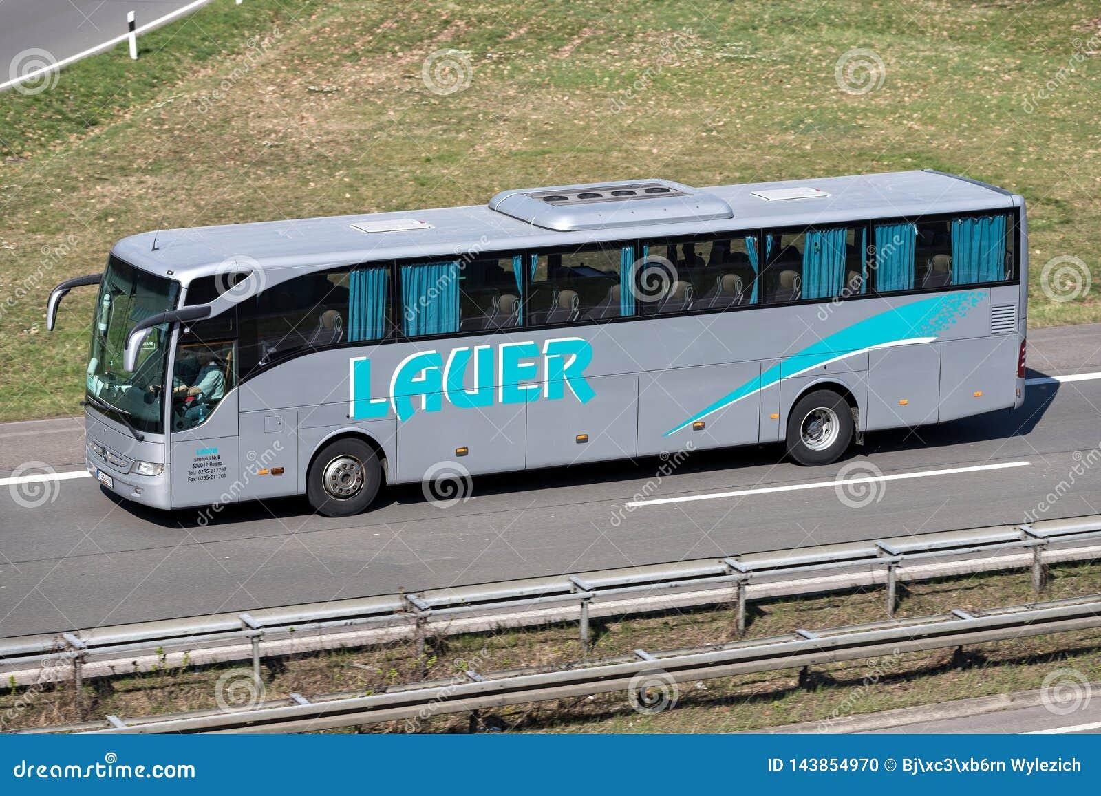 Intercity λεωφορείο Lauer