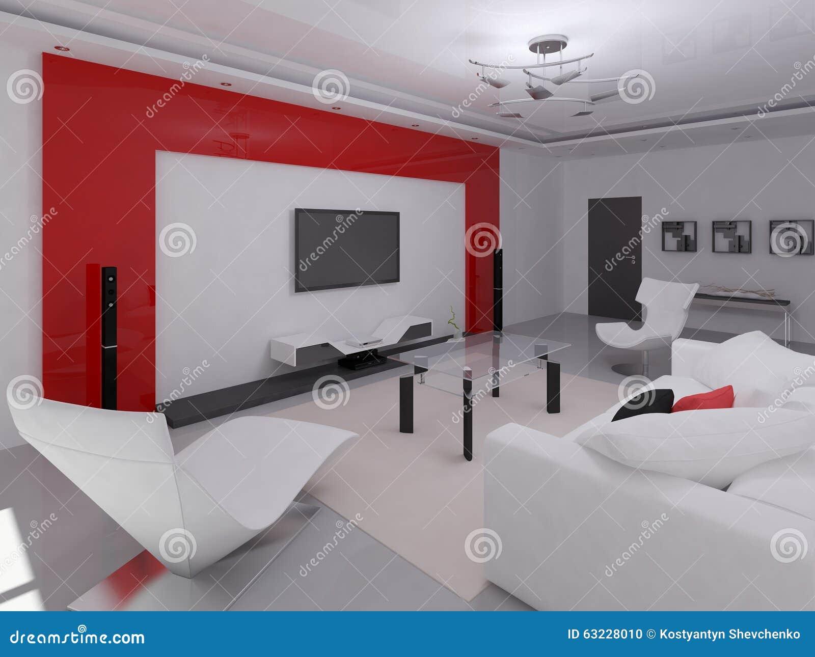 Interer functional living room stock illustration image for Functional living room